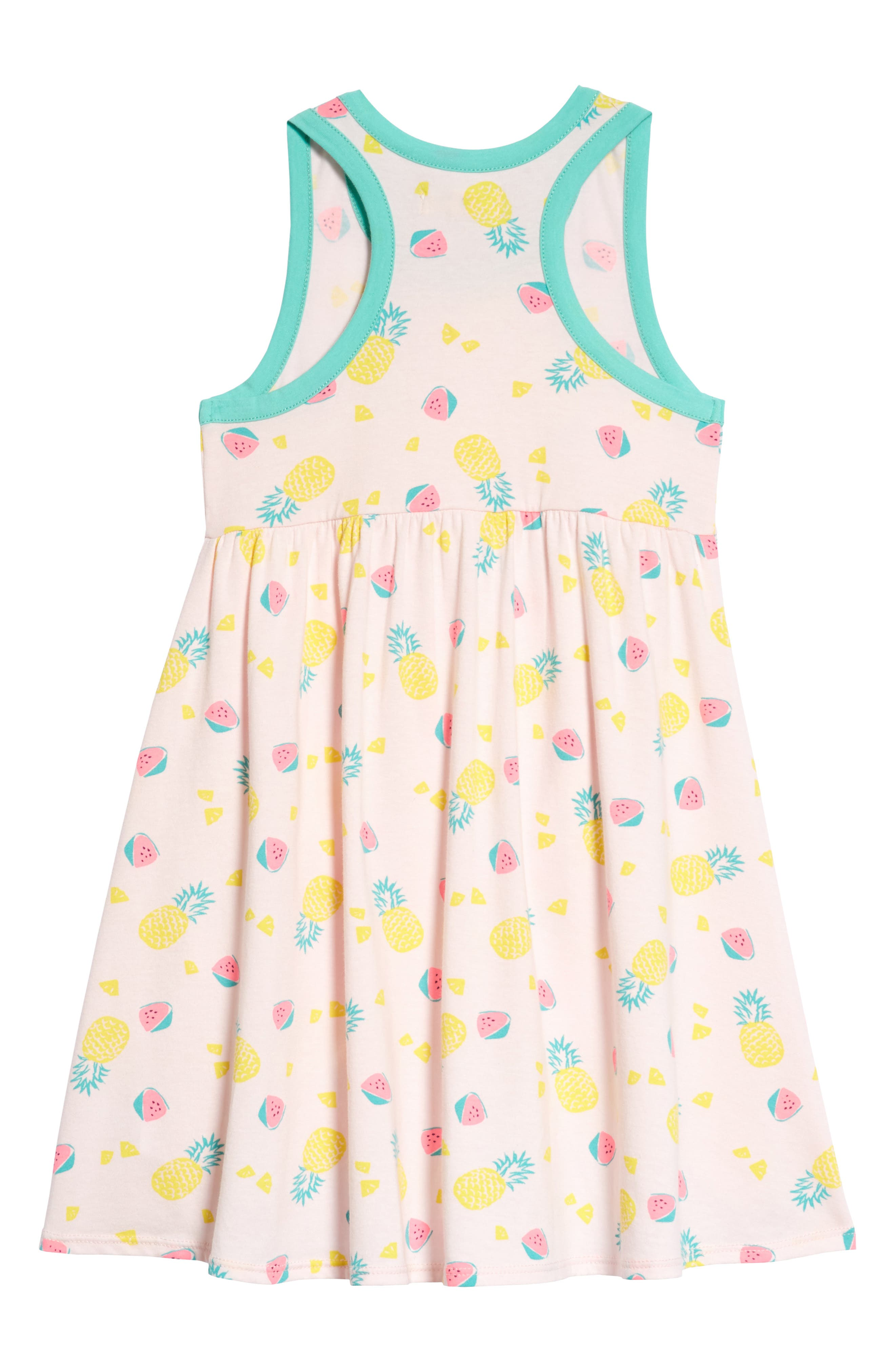 Racerback Tank Dress,                             Alternate thumbnail 2, color,                             Pink Breath Fruits