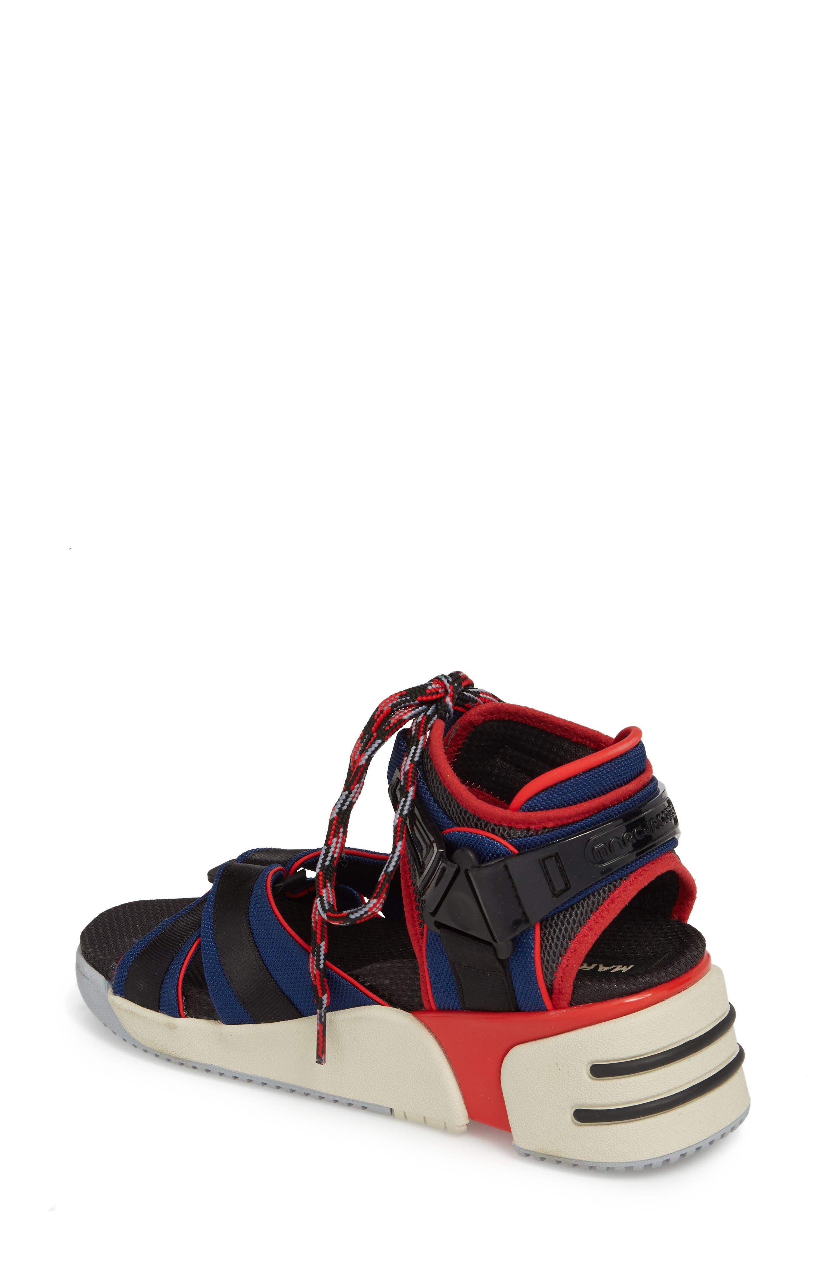Somewhere Sport Sandal,                             Alternate thumbnail 2, color,                             Red Multi