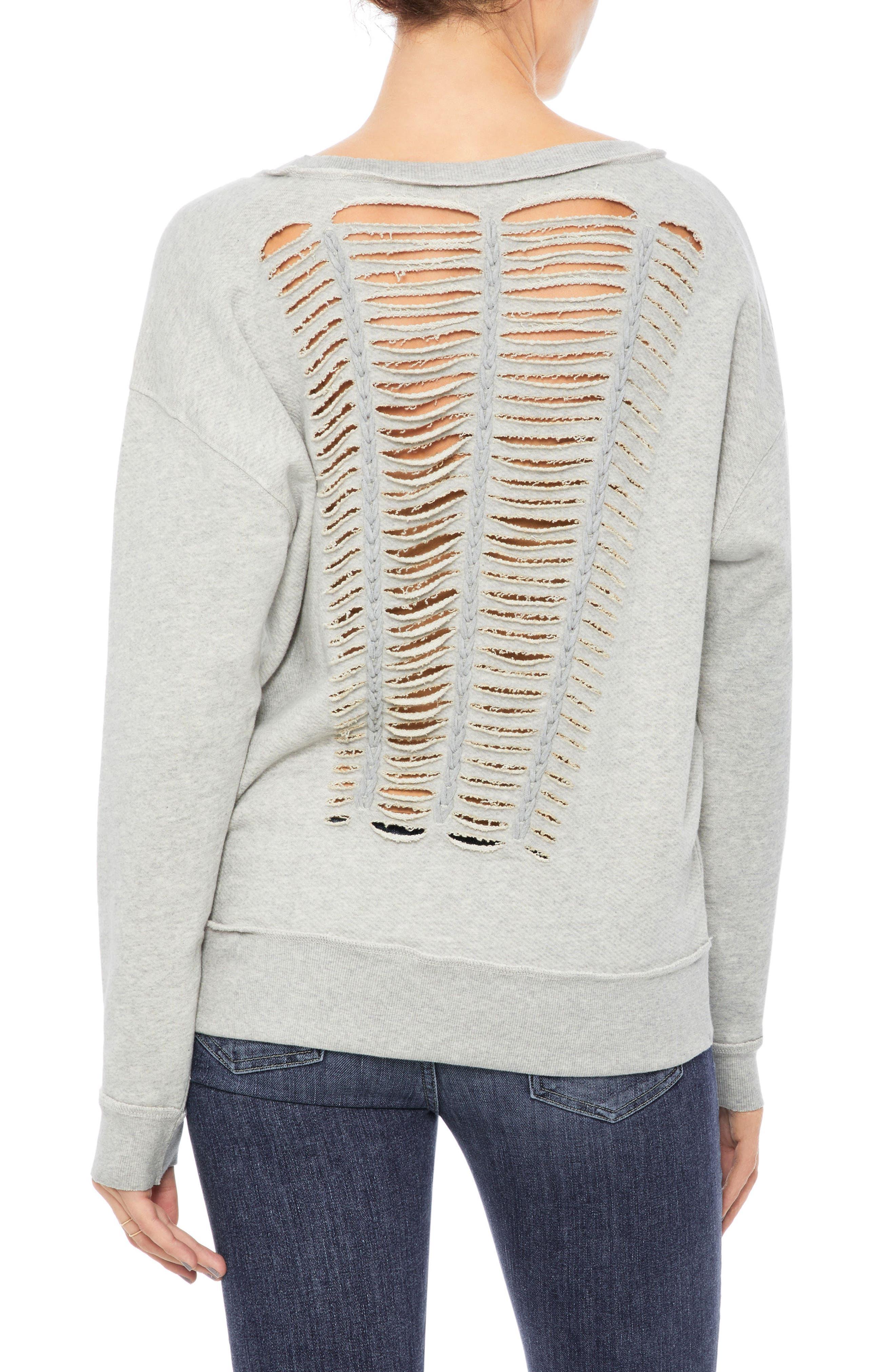 Piya Sweatshirt,                         Main,                         color, Heather Grey