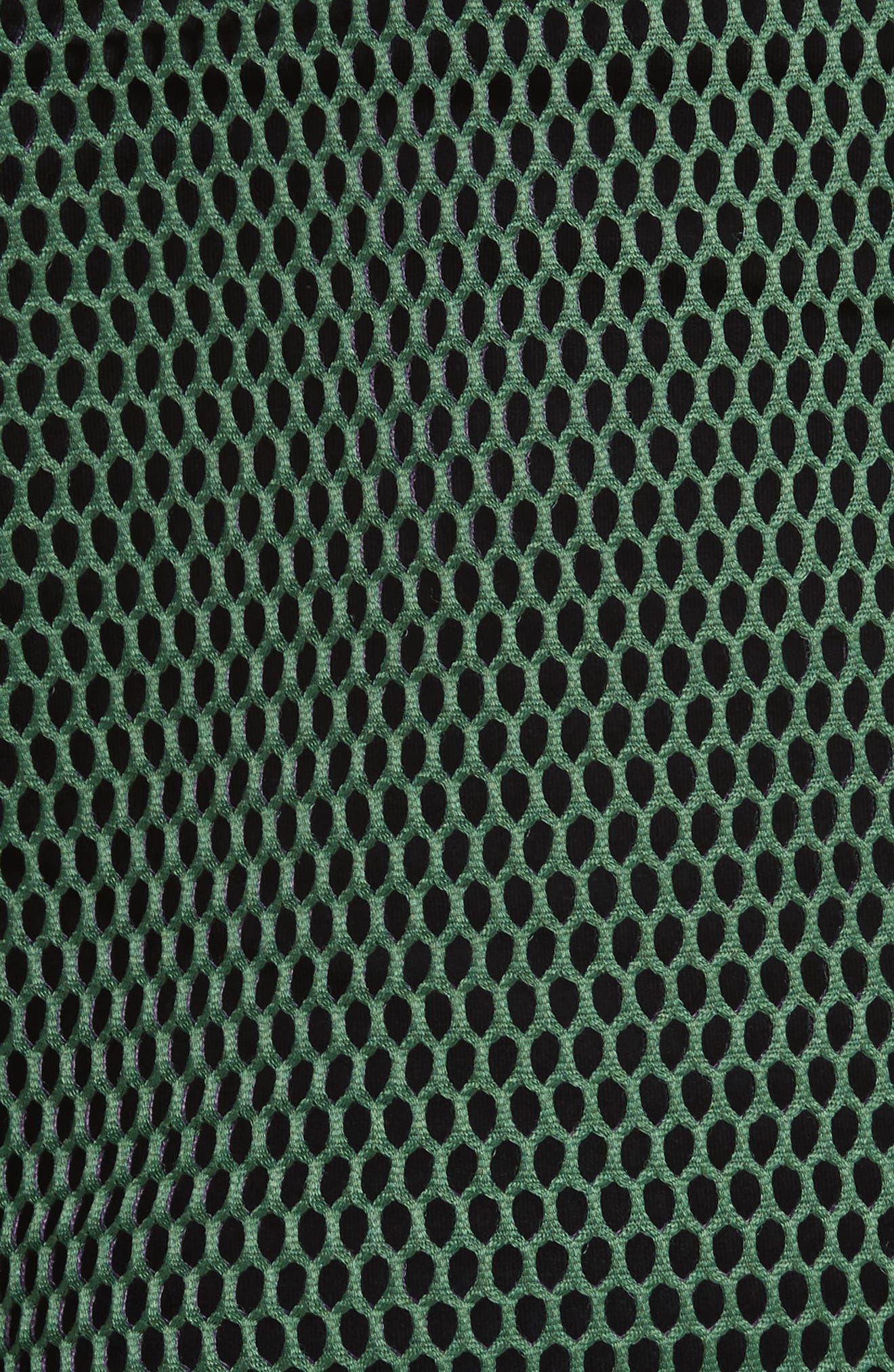 Mesh Top,                             Alternate thumbnail 5, color,                             Violet/ Green