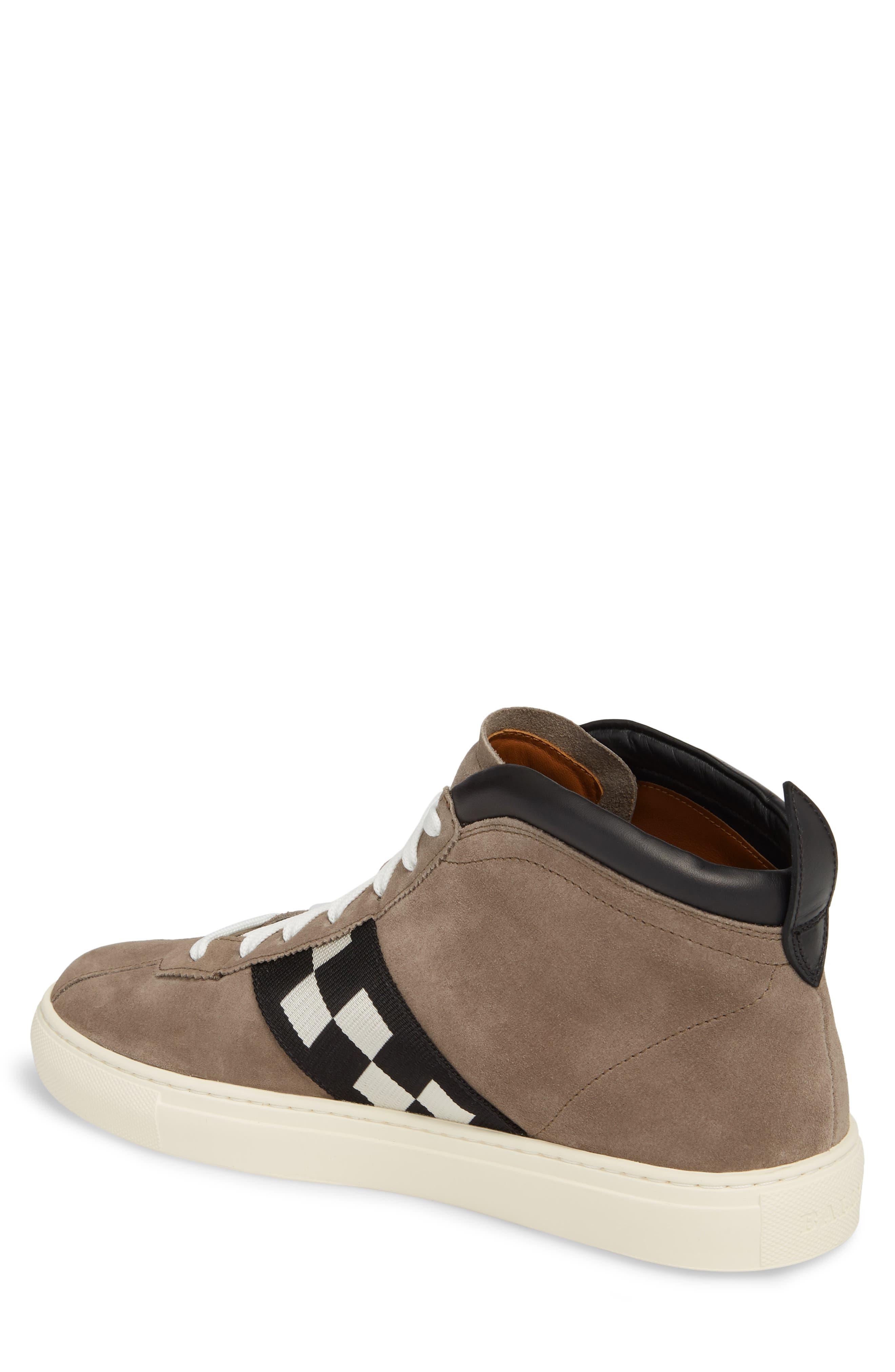 Vita Checkered High Top Sneaker,                             Alternate thumbnail 2, color,                             Snuff