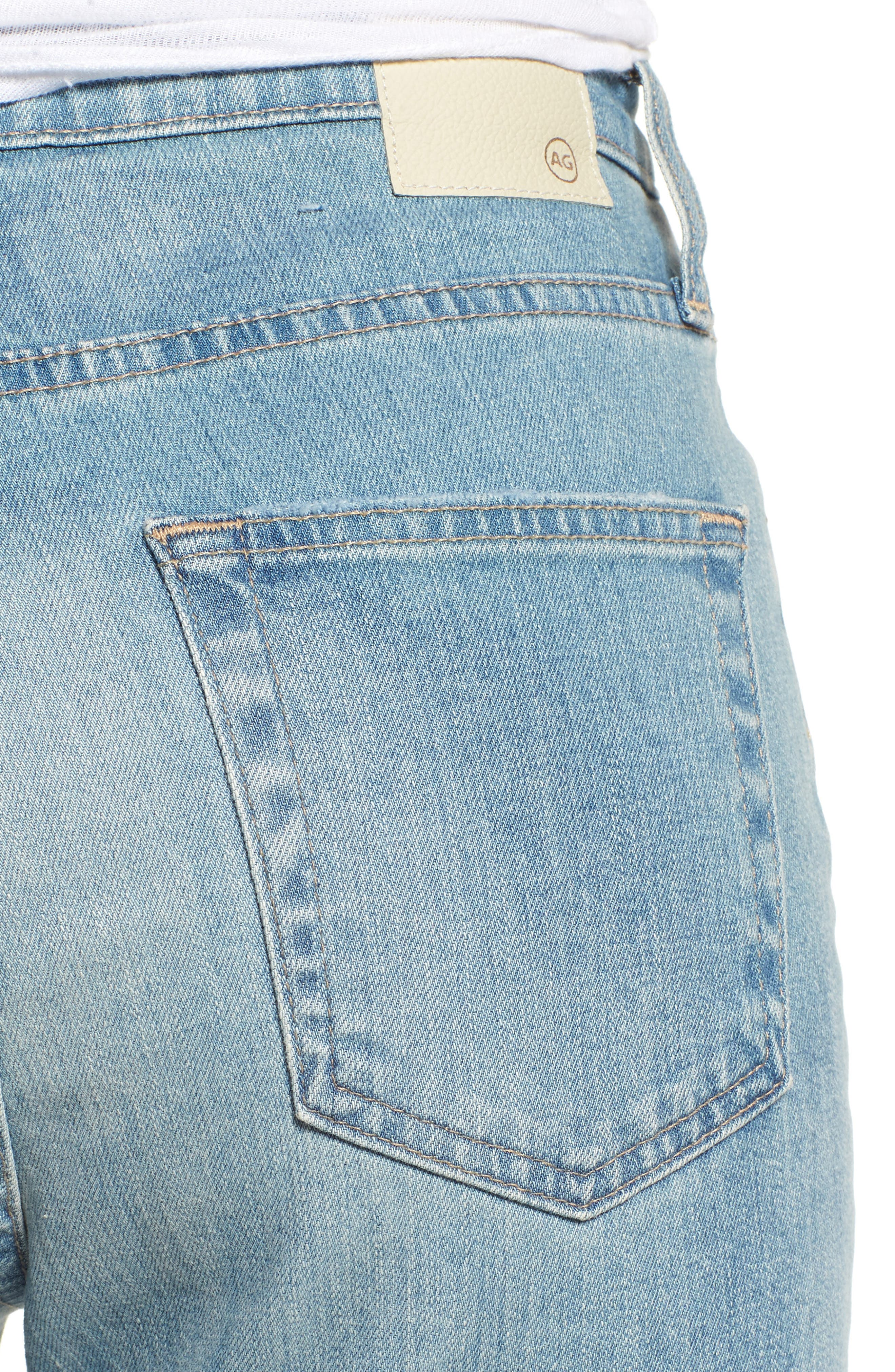 'The Phoebe' Vintage High Rise Straight Leg Jeans,                             Alternate thumbnail 4, color,                             18 Years Headlands