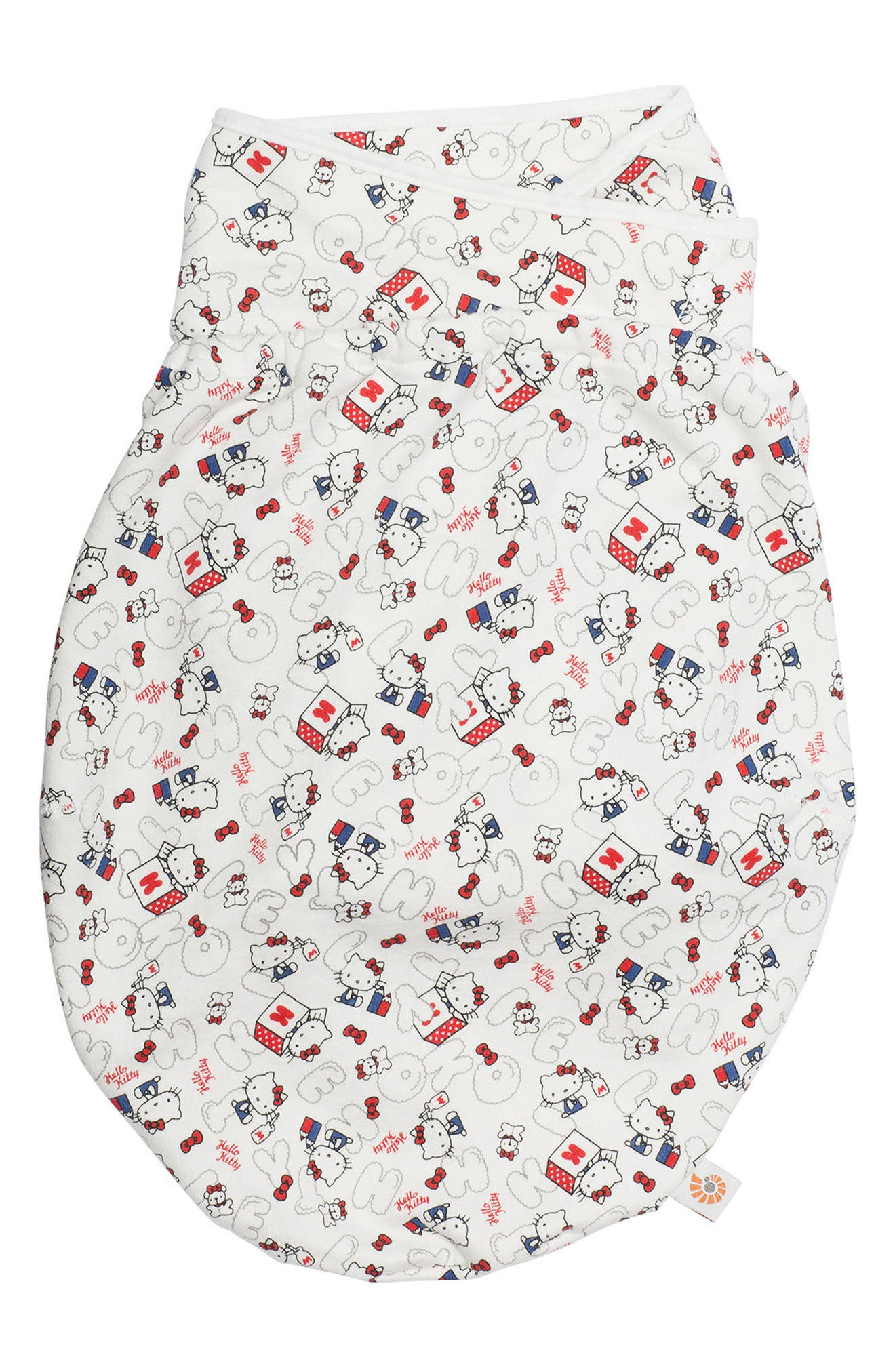 Limited Edition Hello Kitty<sup>®</sup> Swaddler,                             Main thumbnail 1, color,                             Cream