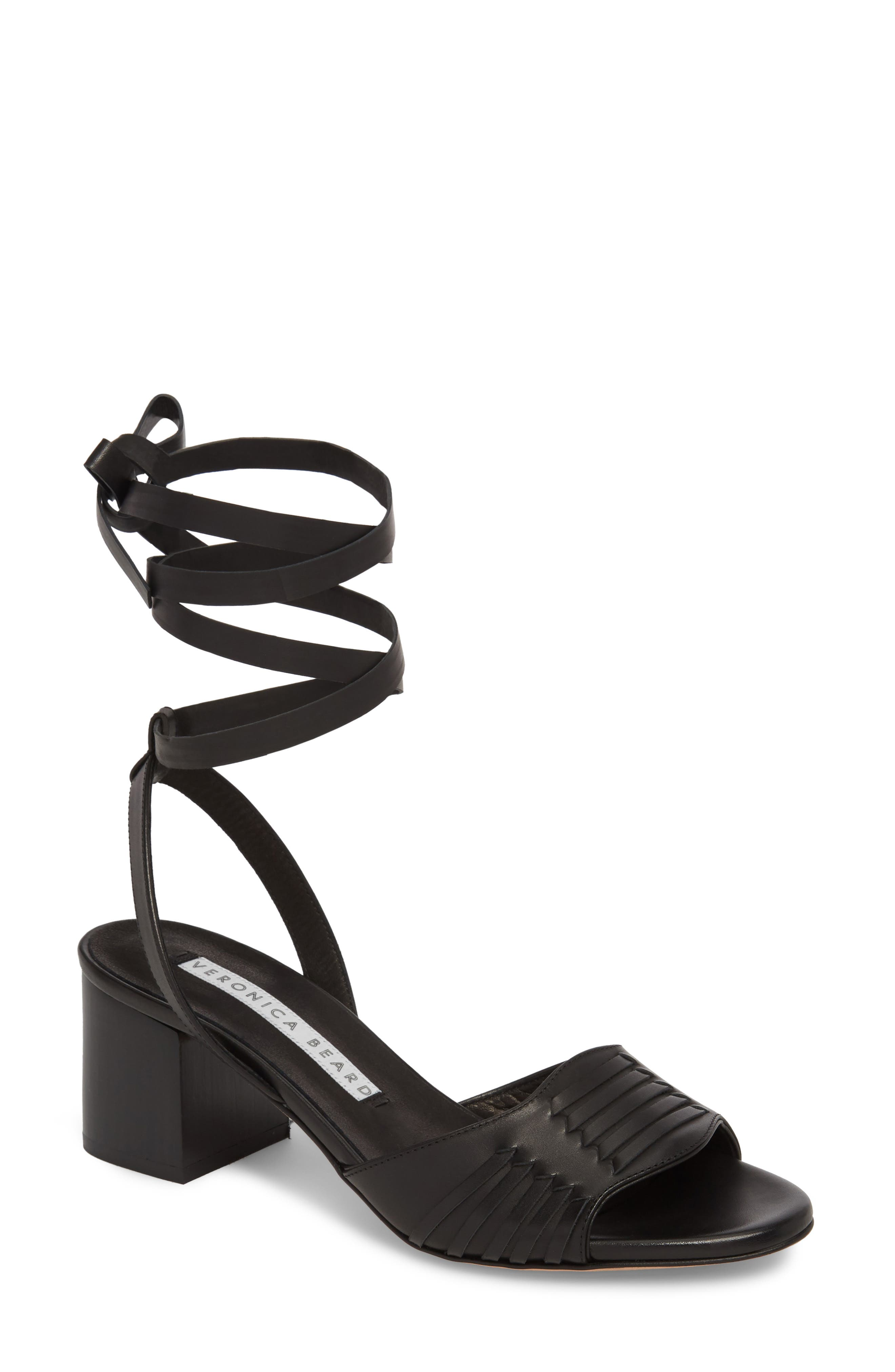 Veronica Beard Brody Ankle Wrap Sandal (Women)