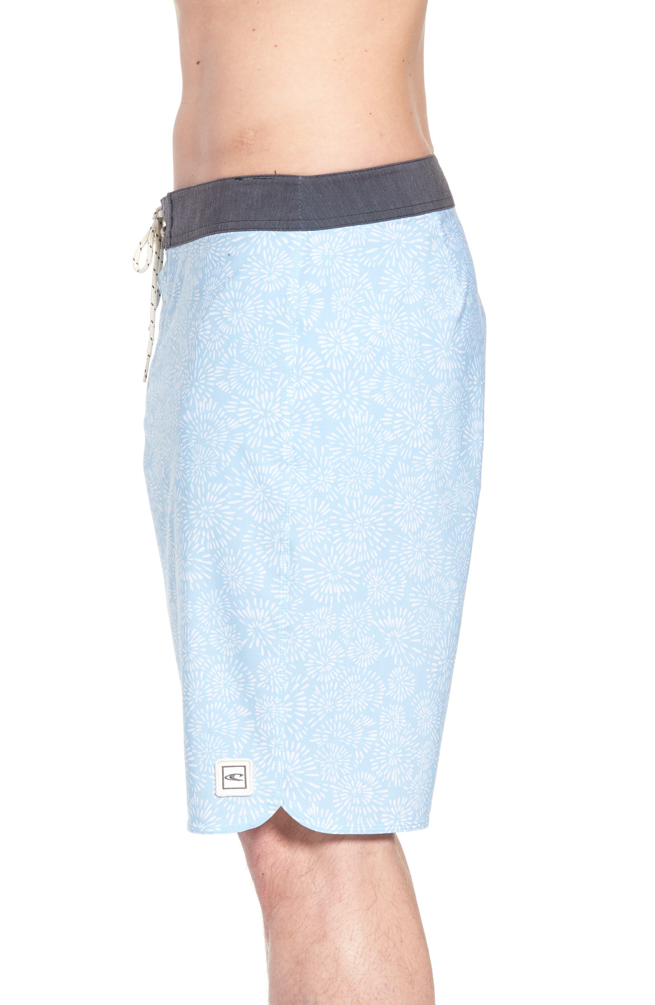 Waterfront Board Shorts,                             Alternate thumbnail 3, color,                             Light Blue