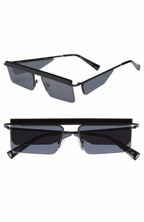 Adam Selman x Le Specs Luxe The Flex 55mm Semi Rimless Sunglasses 7c030c5d026f
