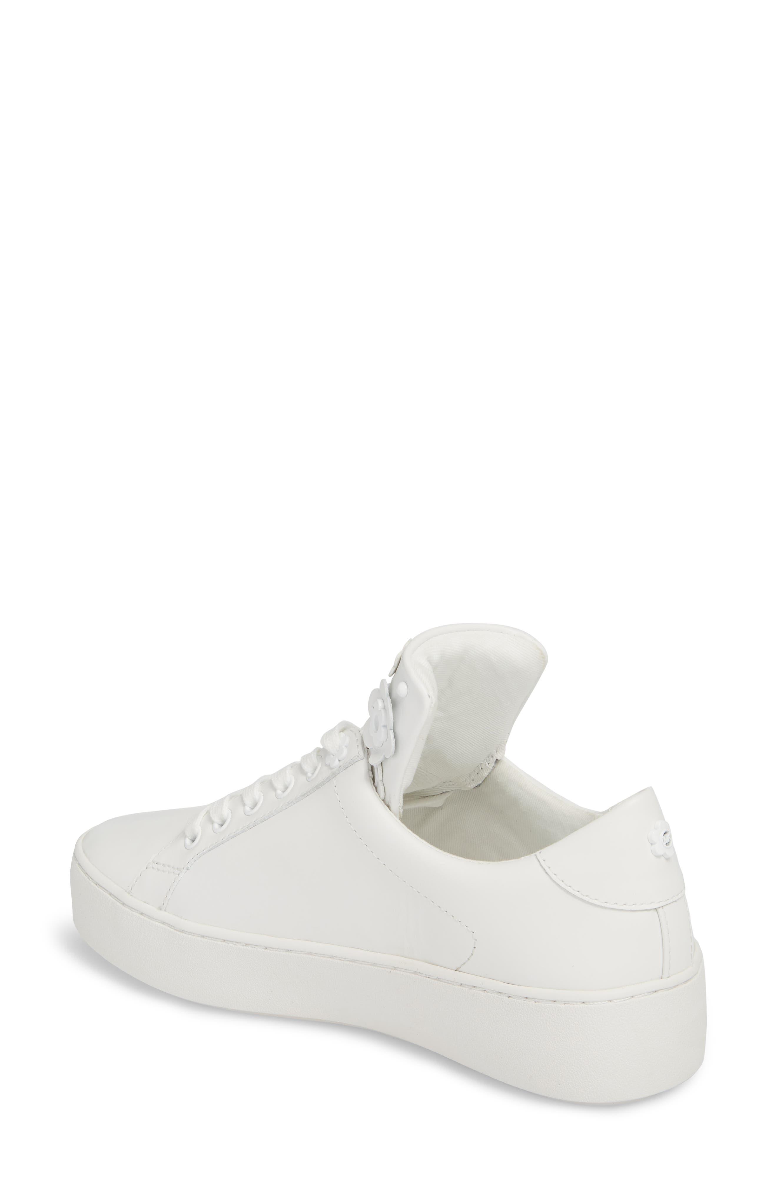 Mindy Platform Sneaker,                             Alternate thumbnail 2, color,                             Optic White
