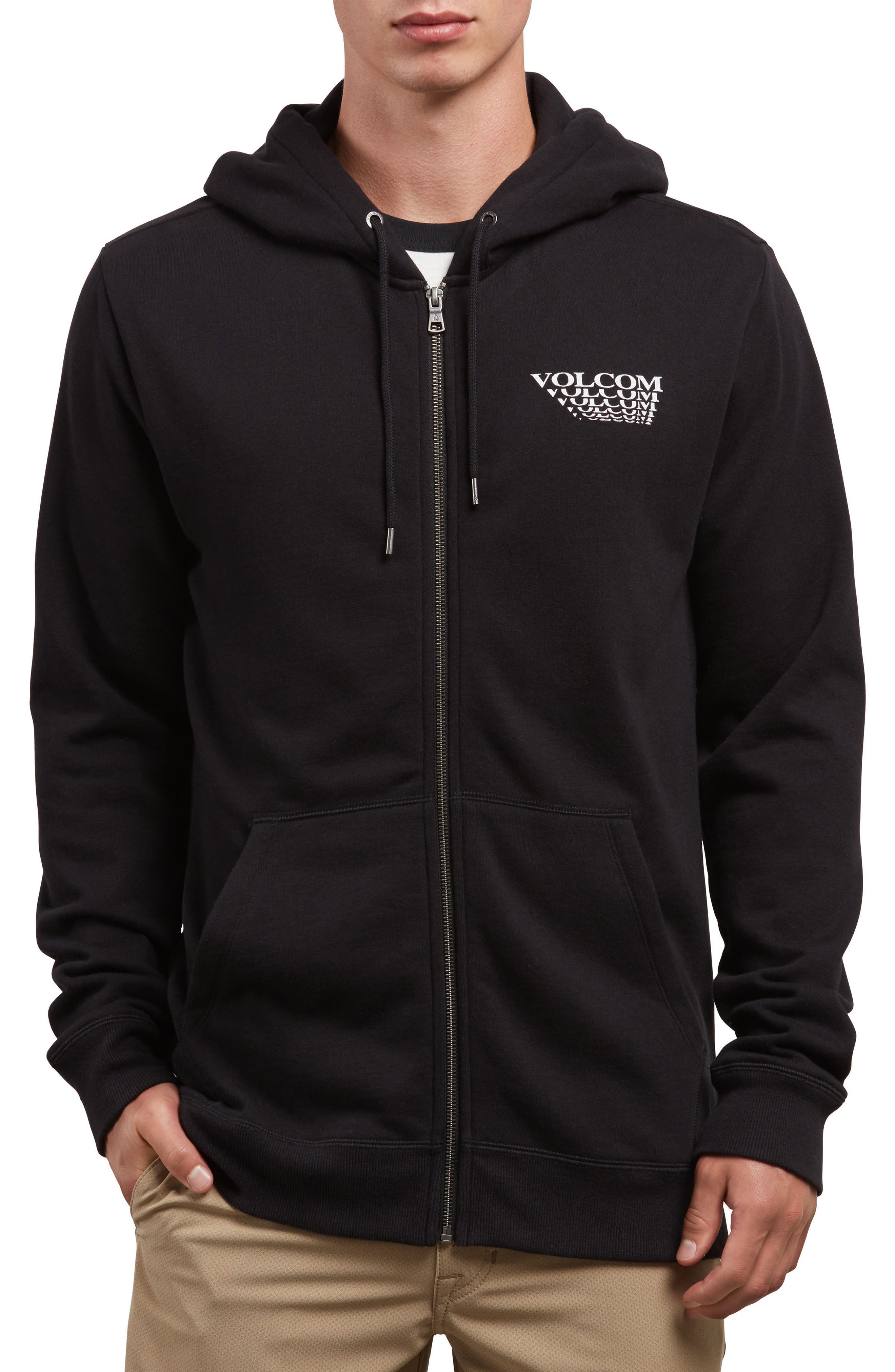 Reload Graphic Hoodie,                         Main,                         color, Black