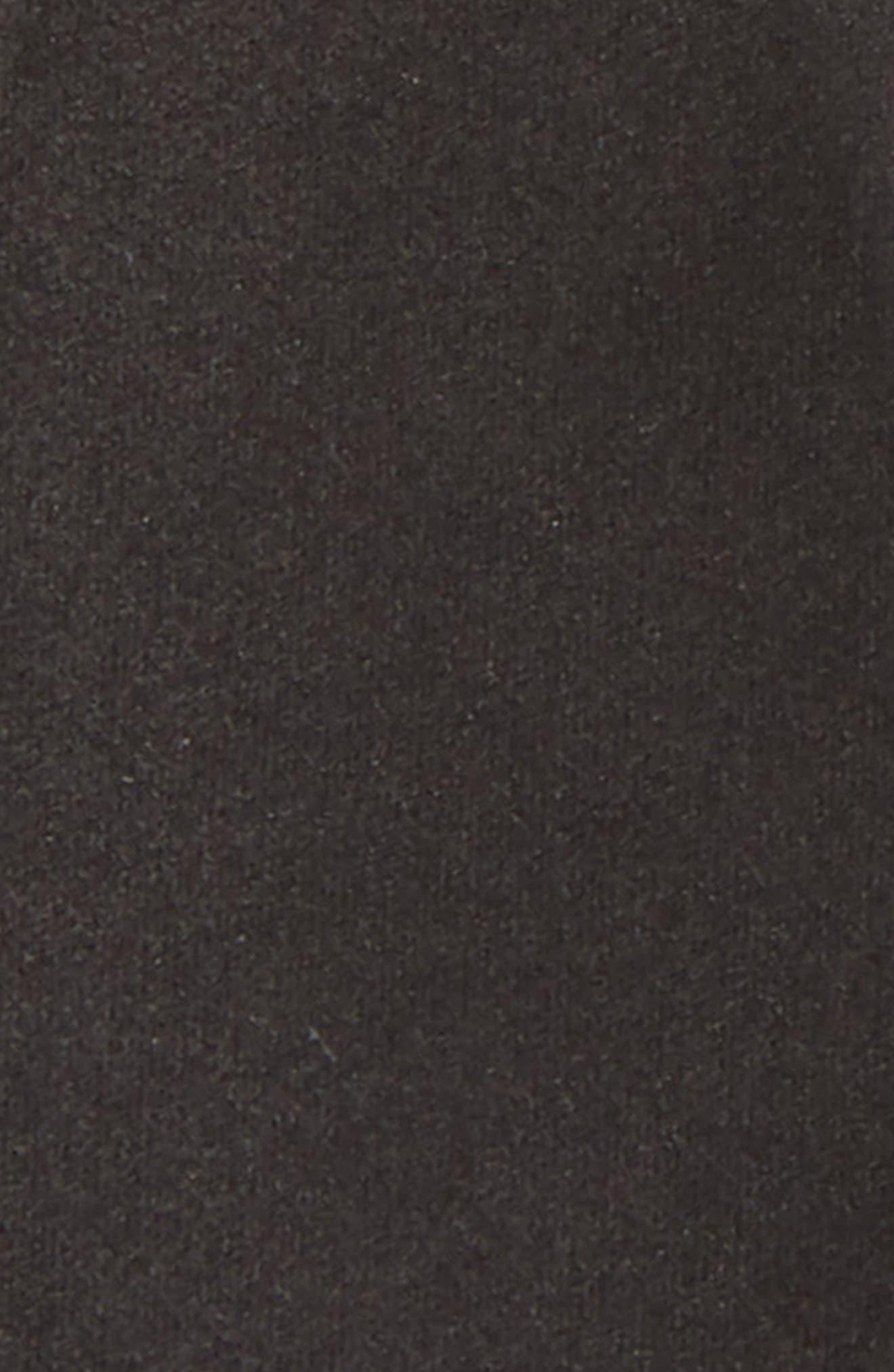 Nordtrom Men's Shop Silk Bow Tie,                             Alternate thumbnail 2, color,                             Black