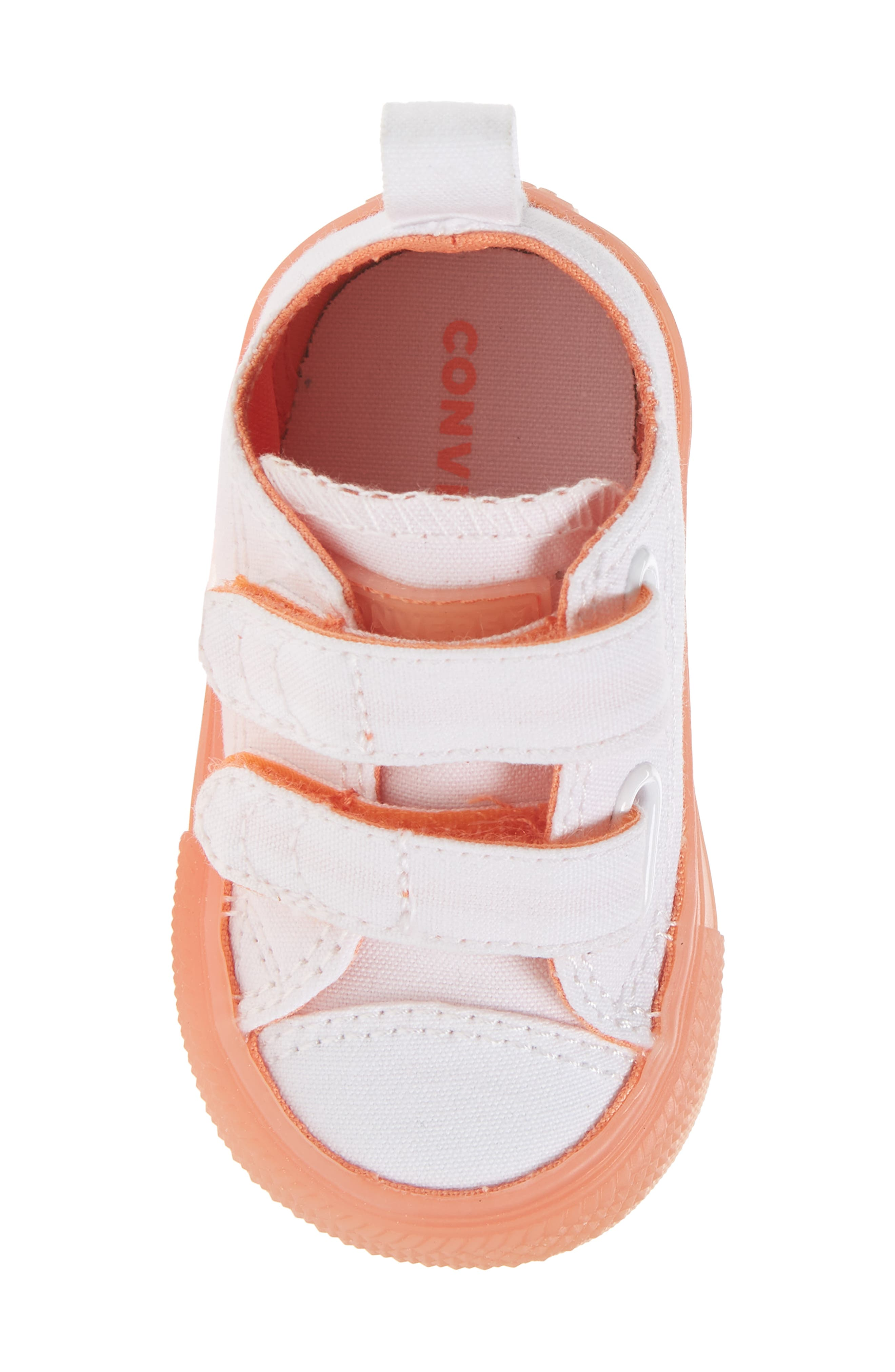 Chuck Taylor<sup>®</sup> All Star<sup>®</sup> Jelly Sneaker,                             Alternate thumbnail 5, color,                             Orange