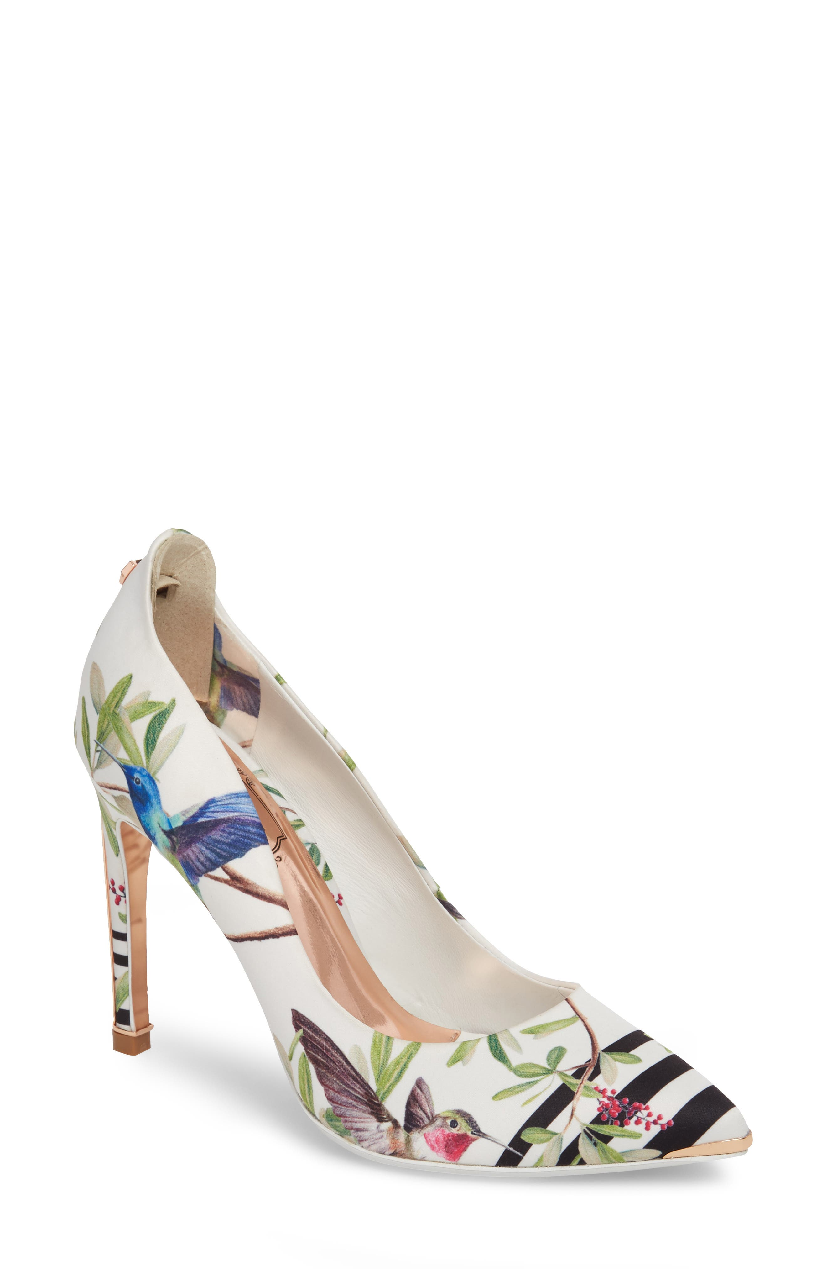 Hallden Pump,                         Main,                         color, Highgrove Hummingbird Print