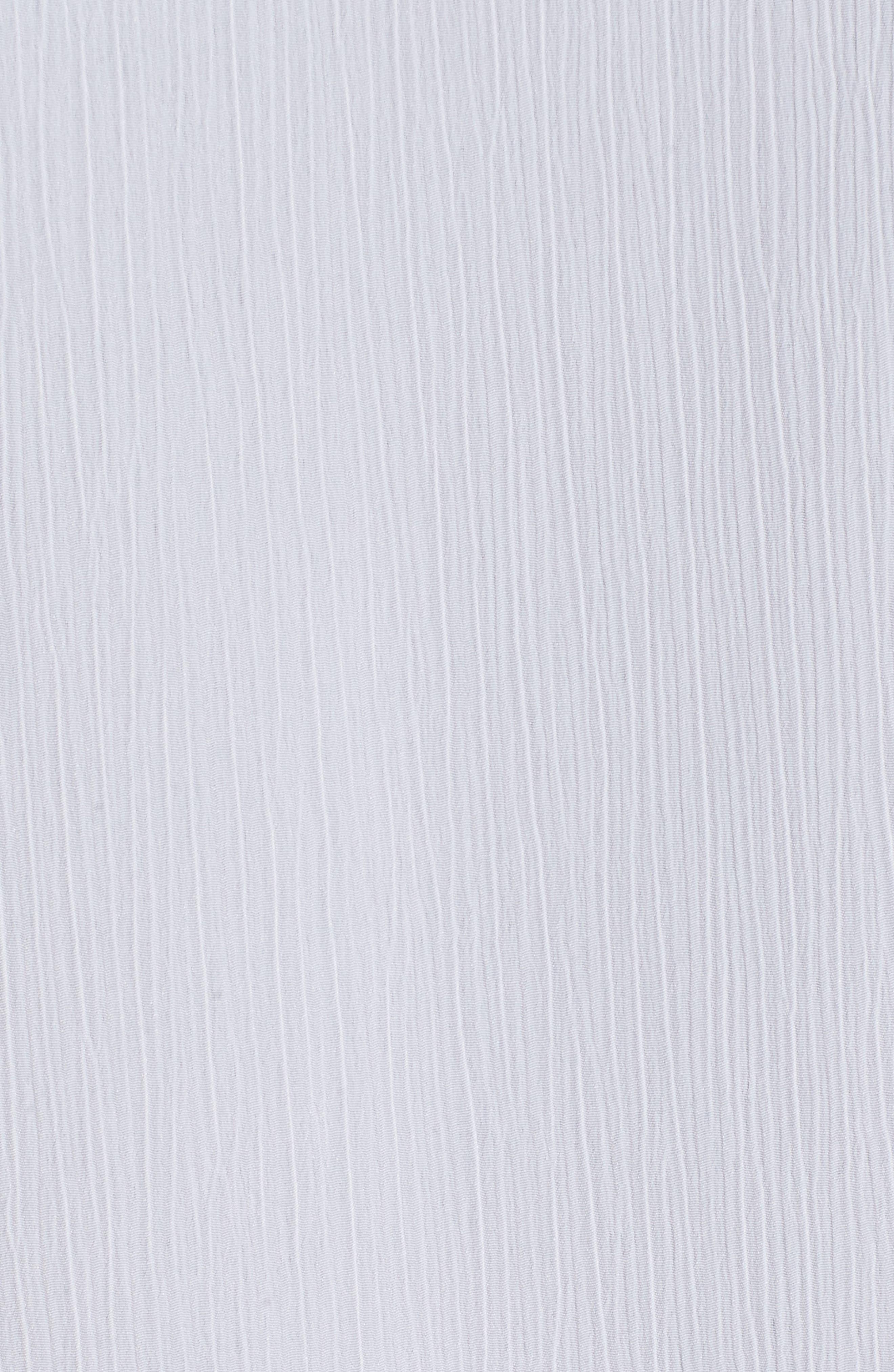Gauzy Roll-Tab Sleeve Jacket,                             Alternate thumbnail 5, color,                             White