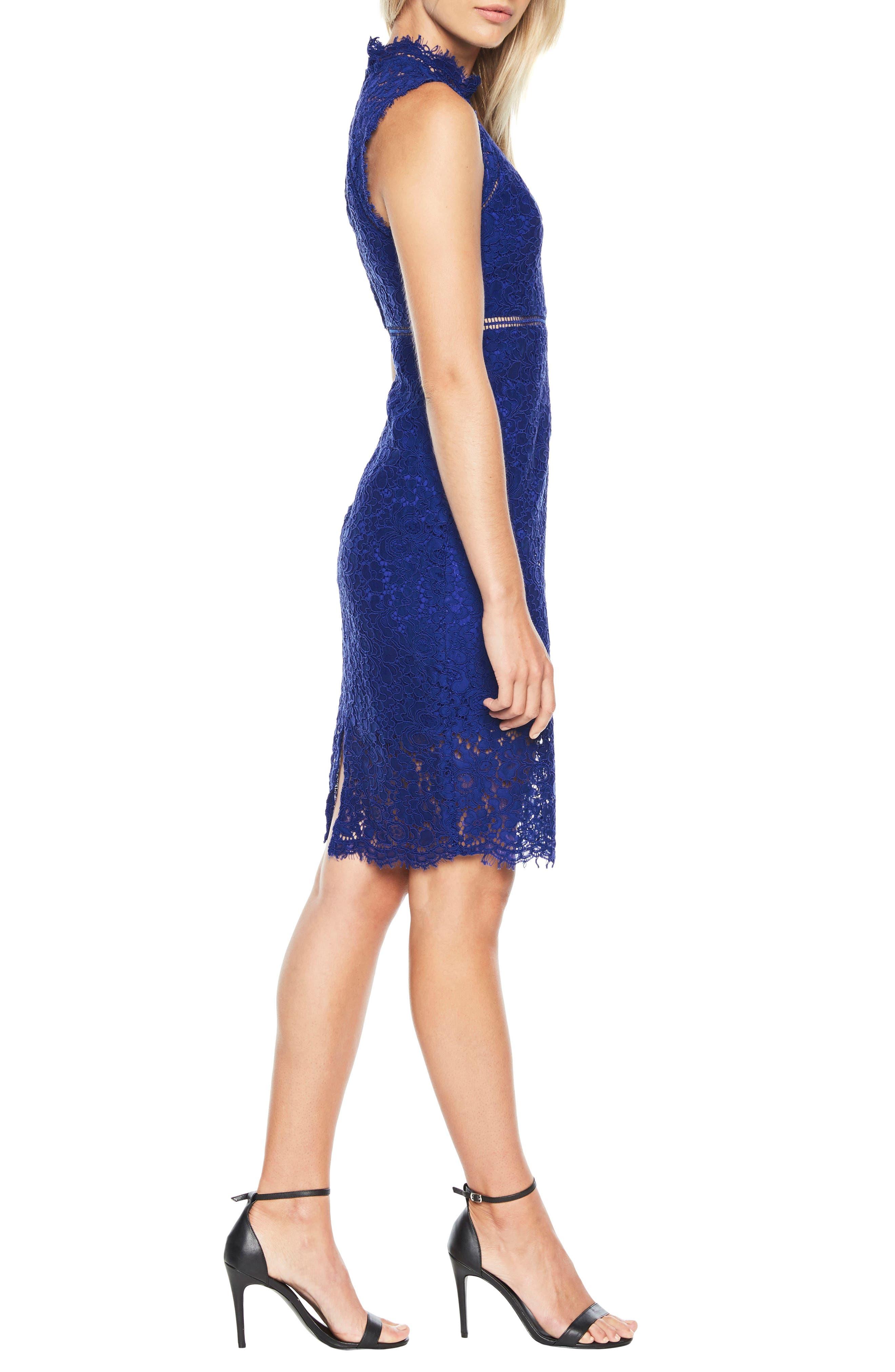 Alternate Image 3  - Bardot Lace Sheath Dress