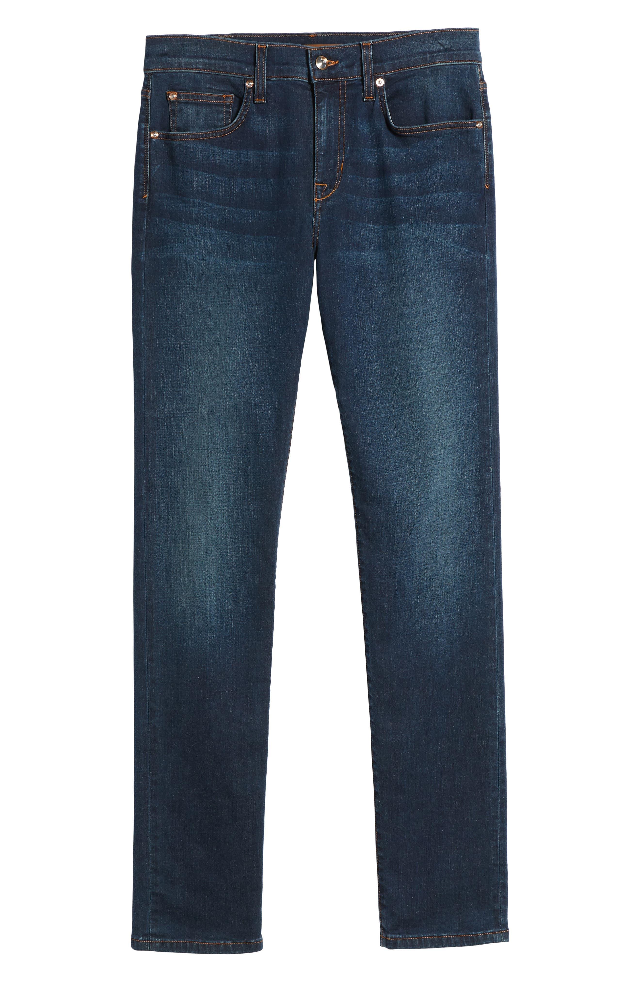 Slim Fit Jeans,                             Alternate thumbnail 6, color,                             Brett