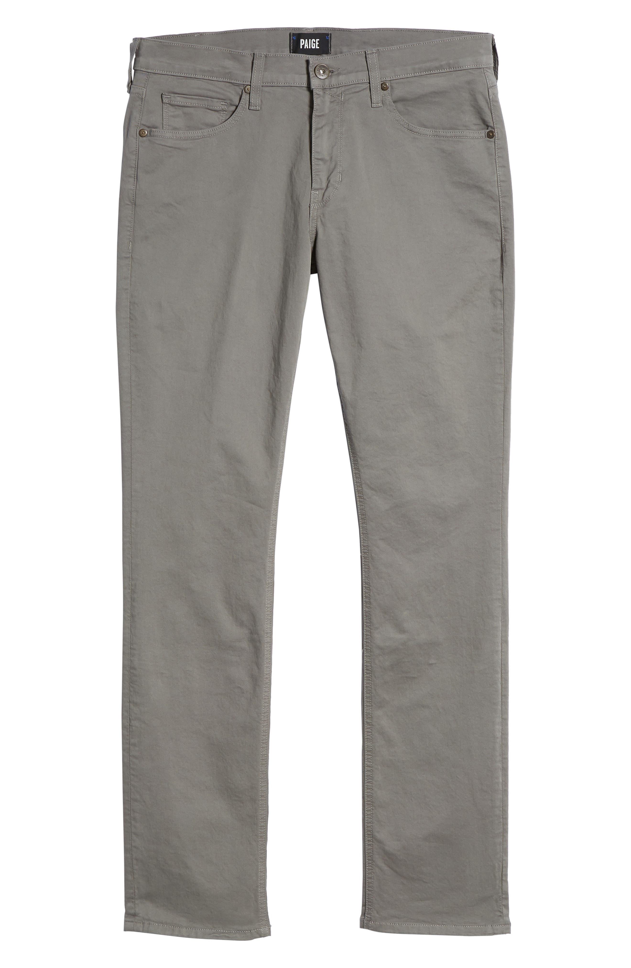 'Federal' Slim Straight Leg Twill Pants,                         Main,                         color, Granite Stone