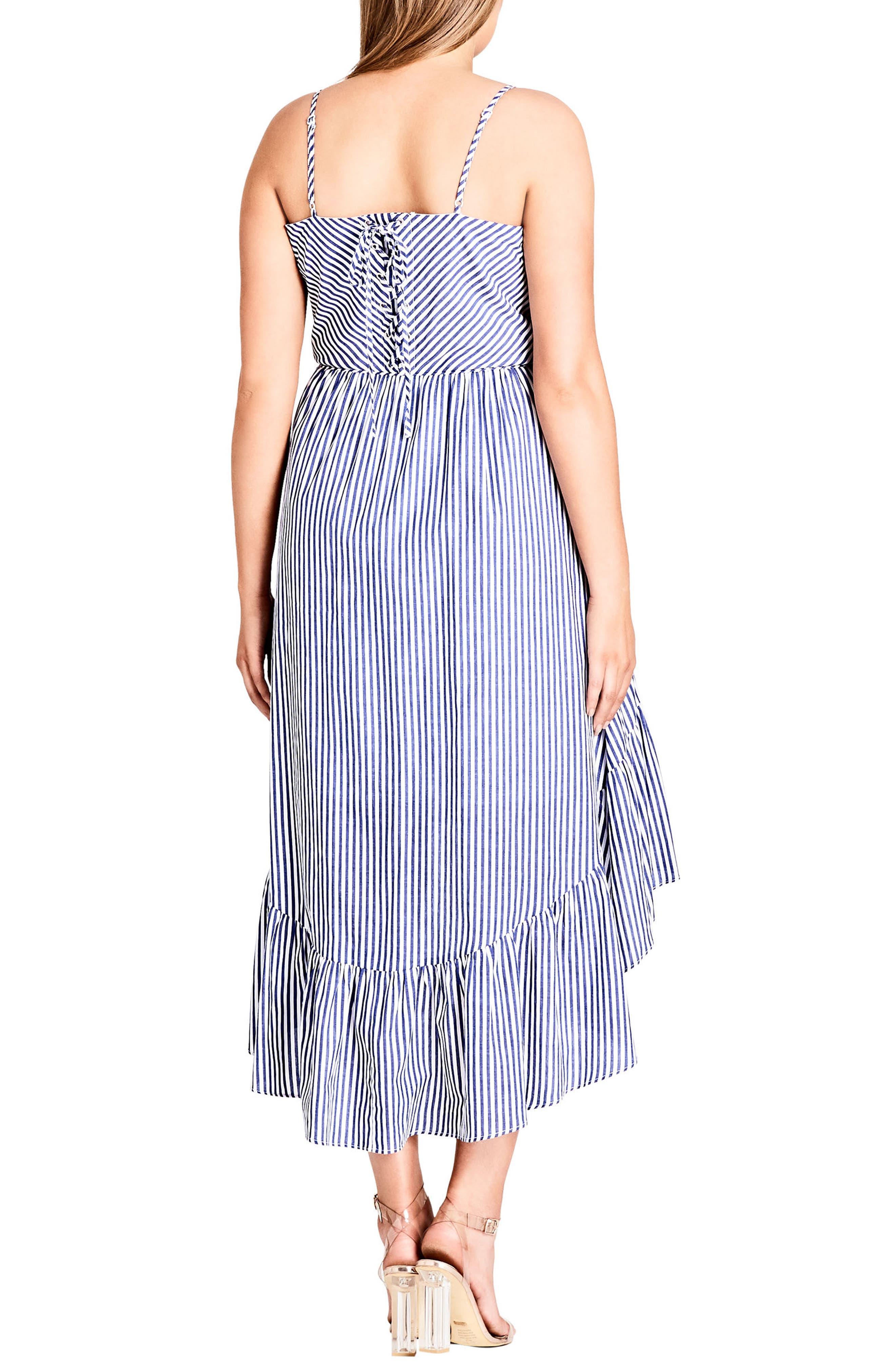 Mallorca Stripe Maxi Dress,                             Alternate thumbnail 2, color,                             Blue Stripe