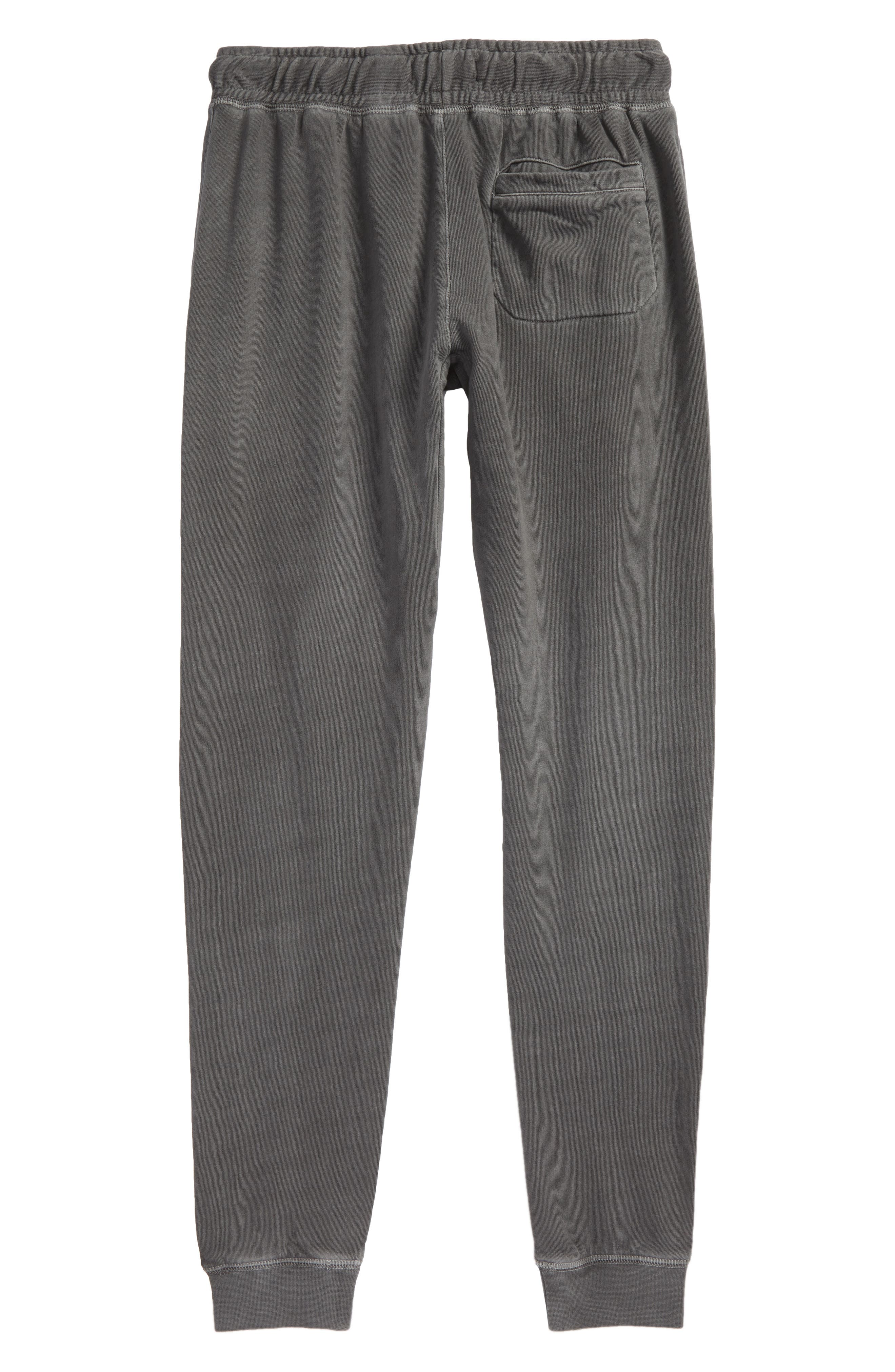 Fleece Jogger Pants,                             Alternate thumbnail 3, color,                             Grey Castlerock