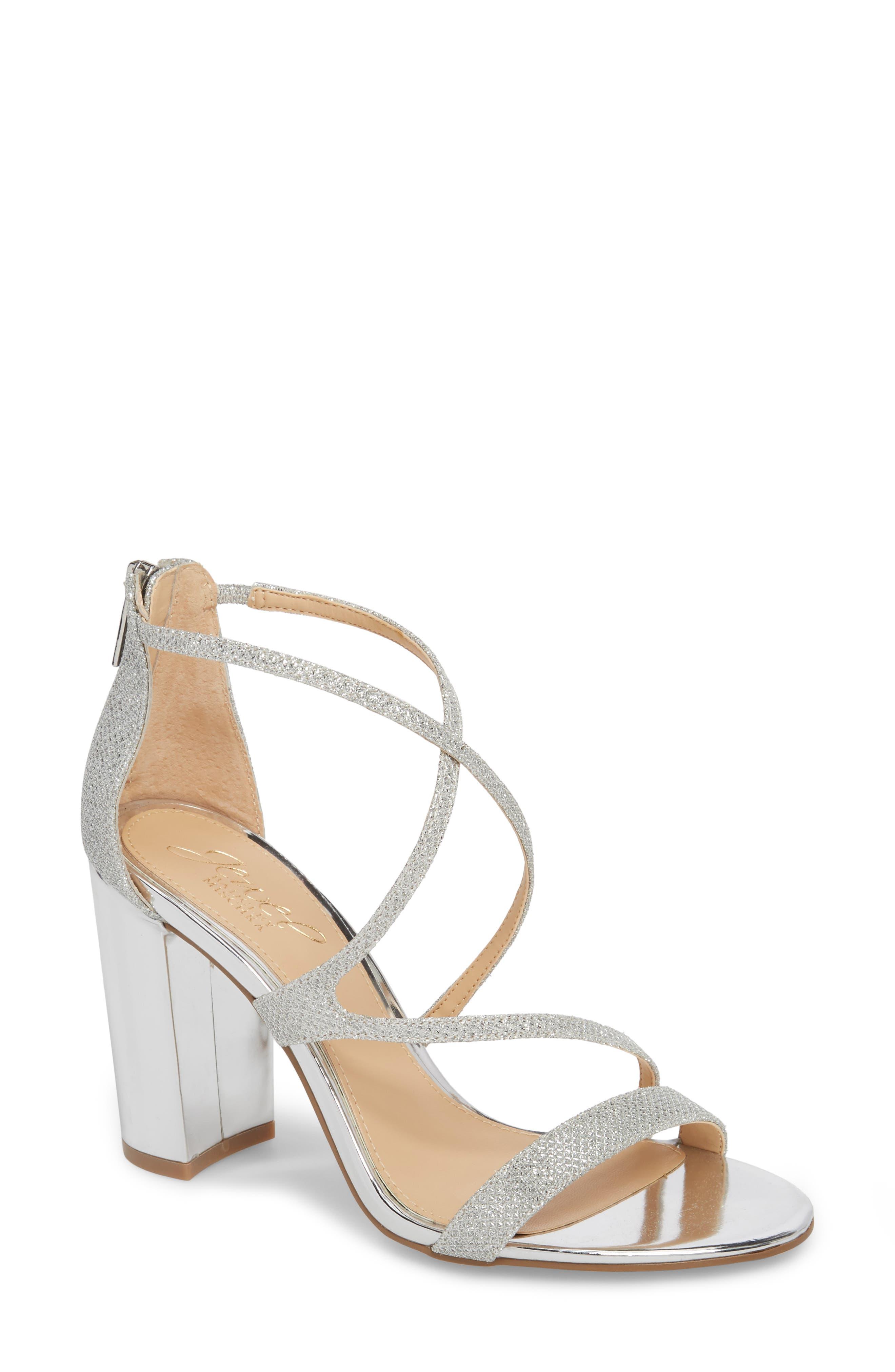 Badgley Mischka Gale Block Heel Sandal (Women)