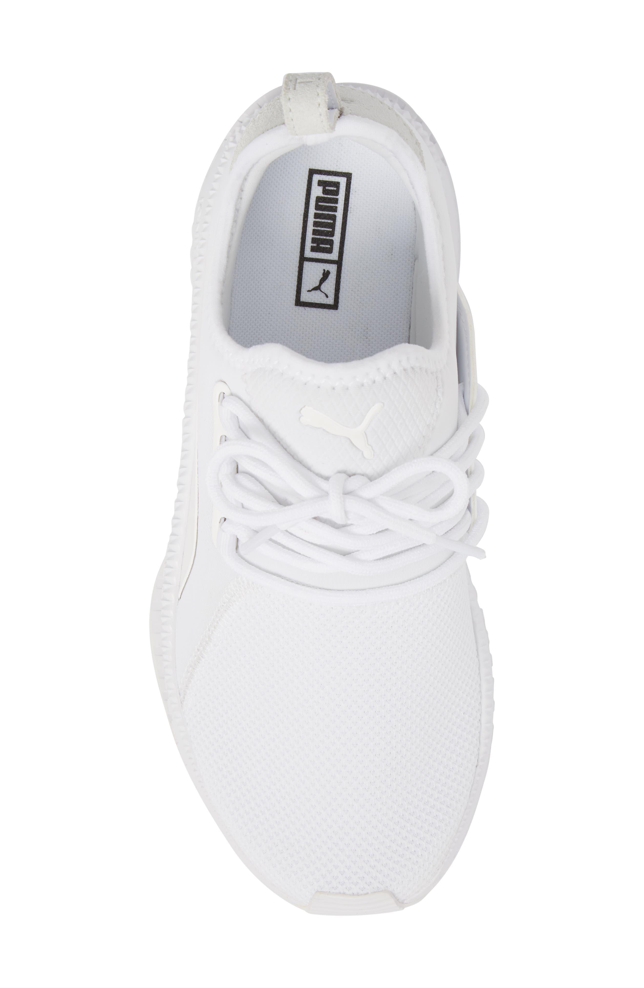 Tsugi Apex Sneaker,                             Alternate thumbnail 5, color,                             White/ White