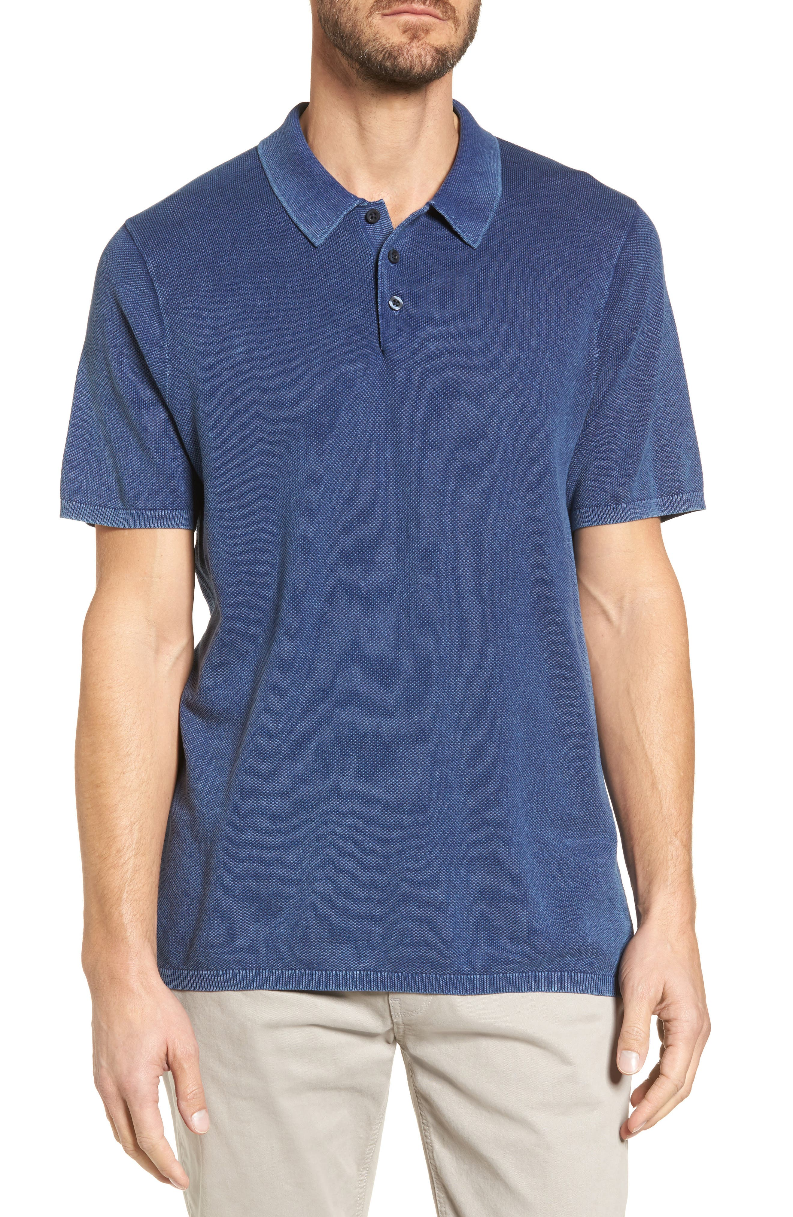 Nordstrom Men's Shop Cotton Sweater Polo