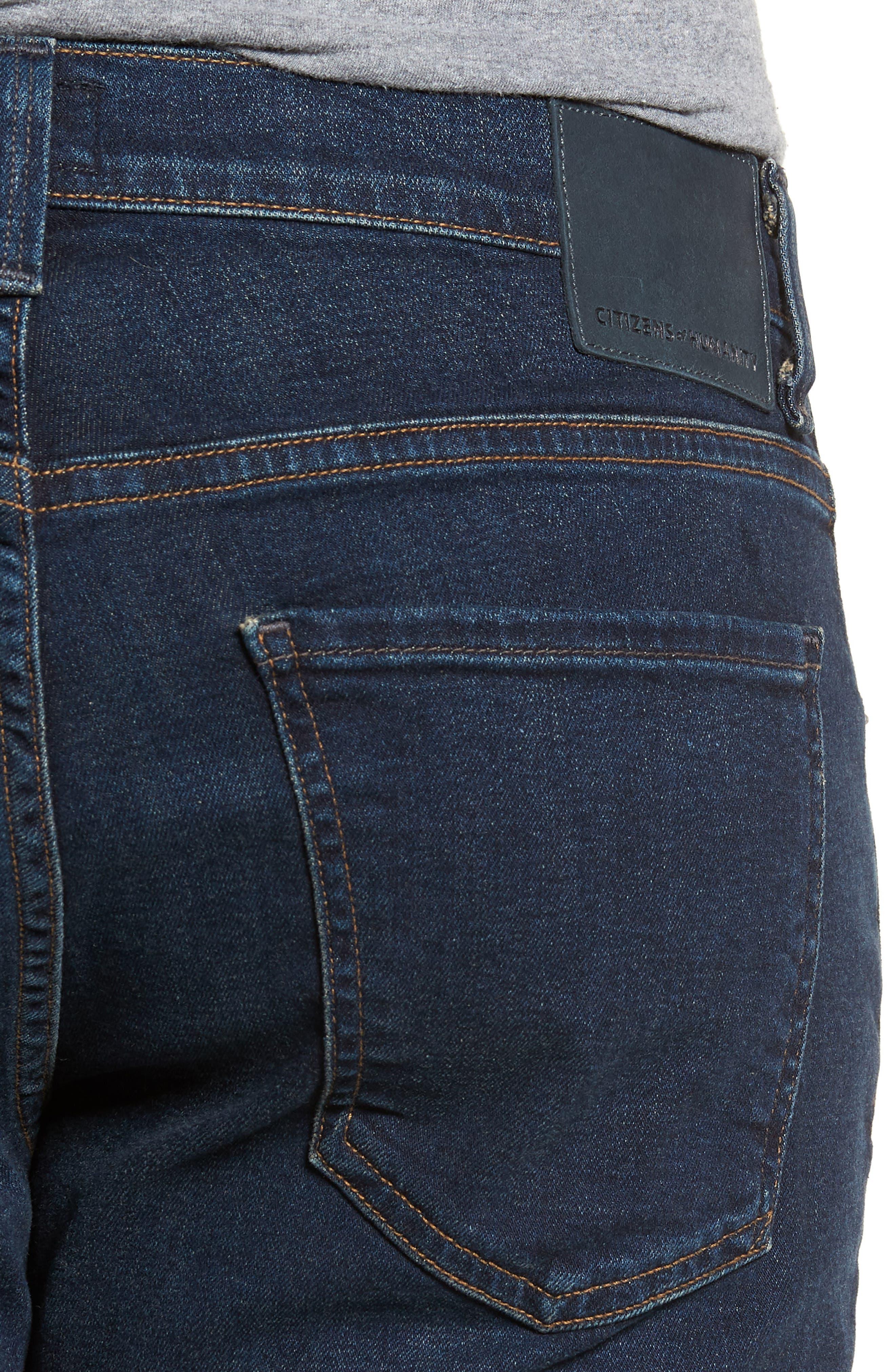 Sid Straight Leg Jeans,                             Alternate thumbnail 4, color,                             Everson