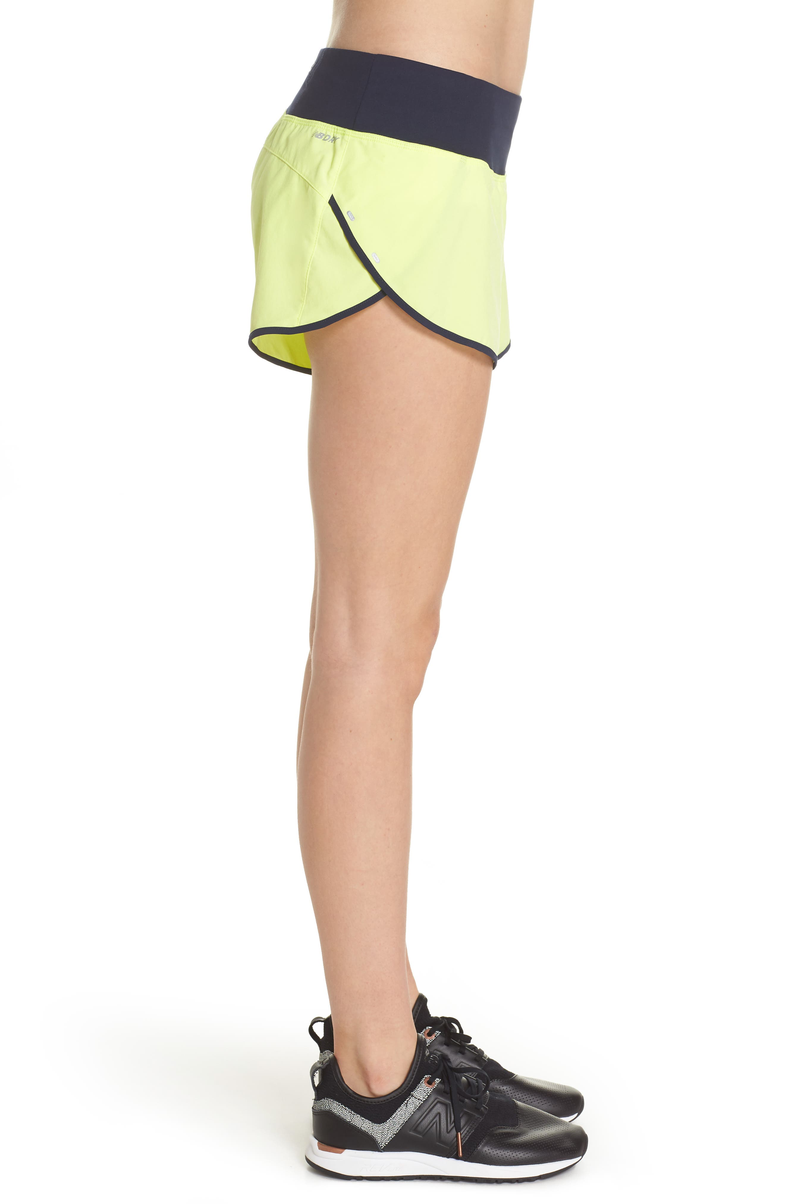 Impact 3 Shorts,                             Alternate thumbnail 3, color,                             Solar Yellow