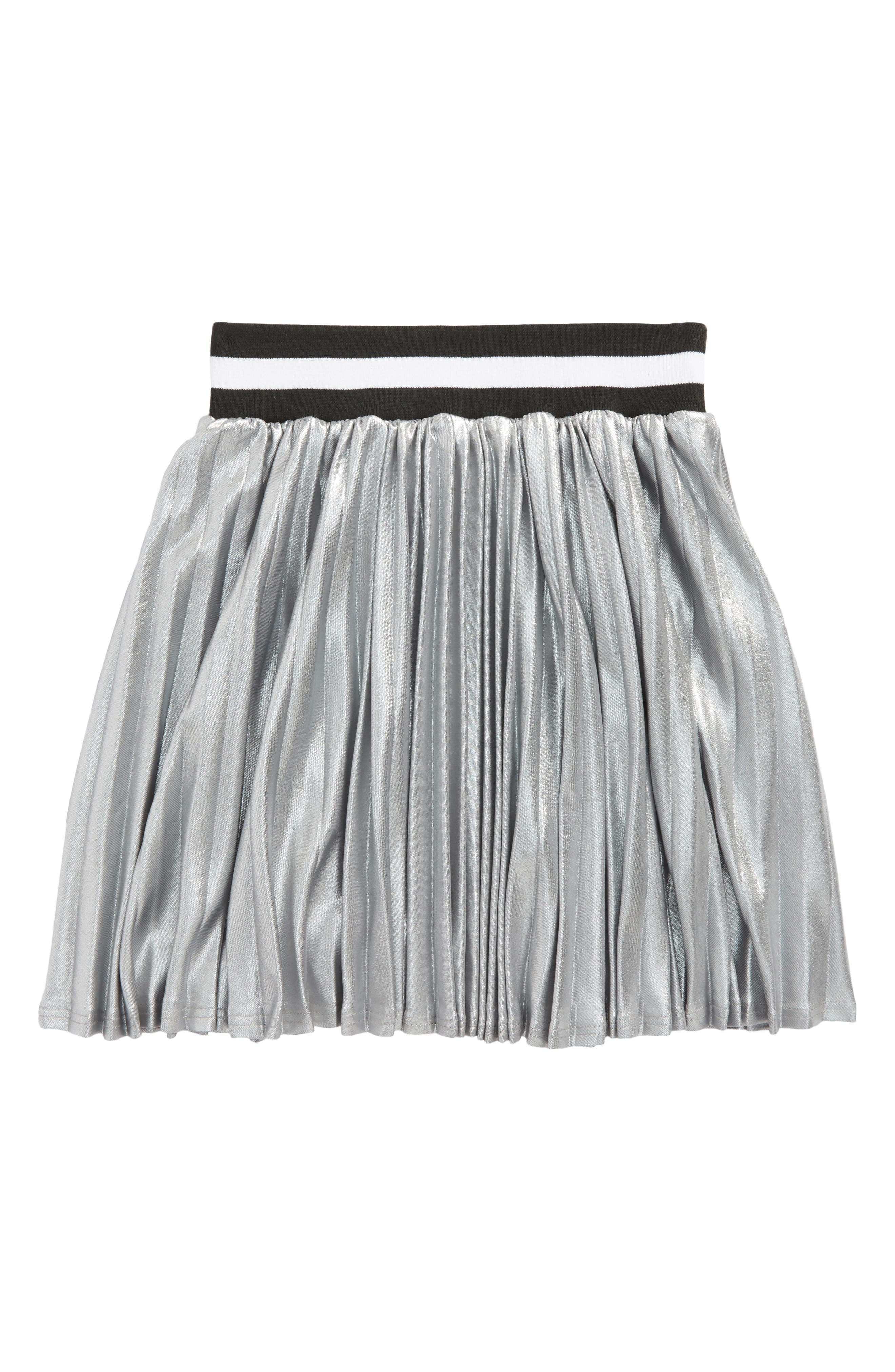 Aly Skirt,                             Main thumbnail 1, color,                             Silver