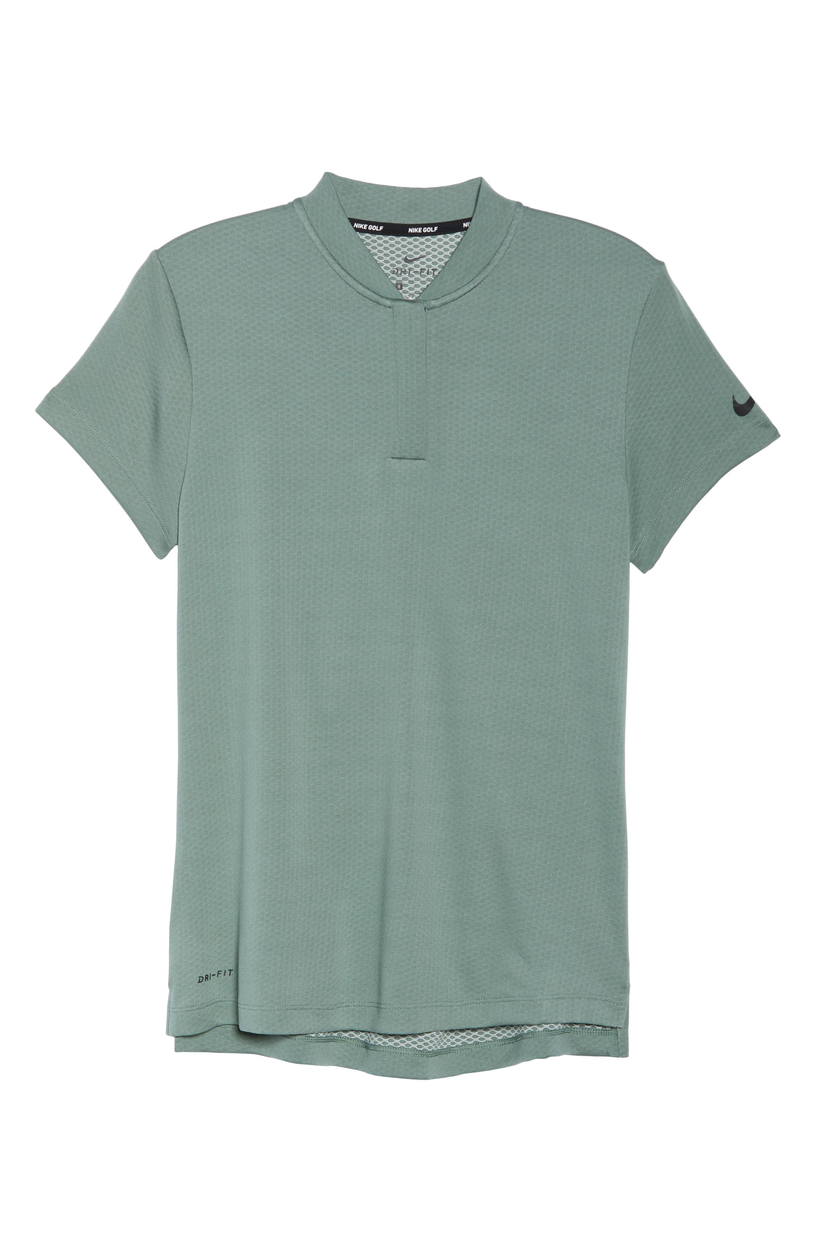Dry Gold Polo,                             Alternate thumbnail 7, color,                             Clay Green/ Black