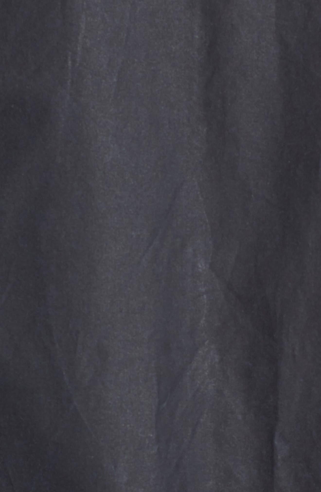 Acorn Water Resistant Waxed Cotton Jacket,                             Alternate thumbnail 8, color,                             Royal Navy