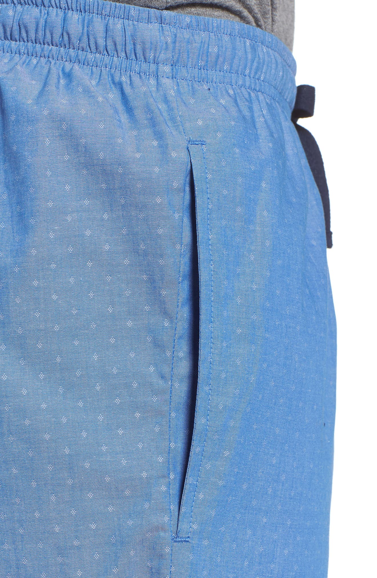 Alternate Image 4  - Nordstrom Men's Shop Poplin Lounge Pants