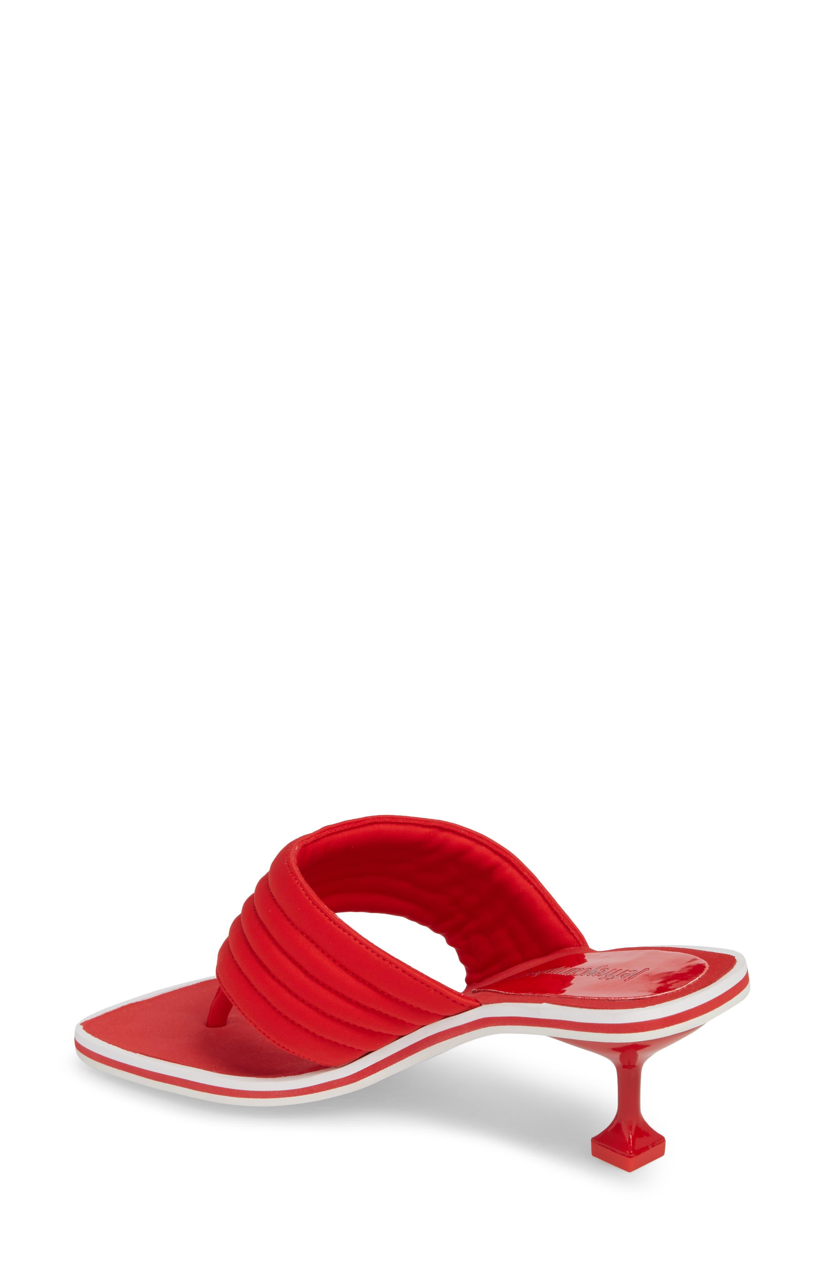 Overtime Sandal,                             Alternate thumbnail 2, color,                             Red Neorprene