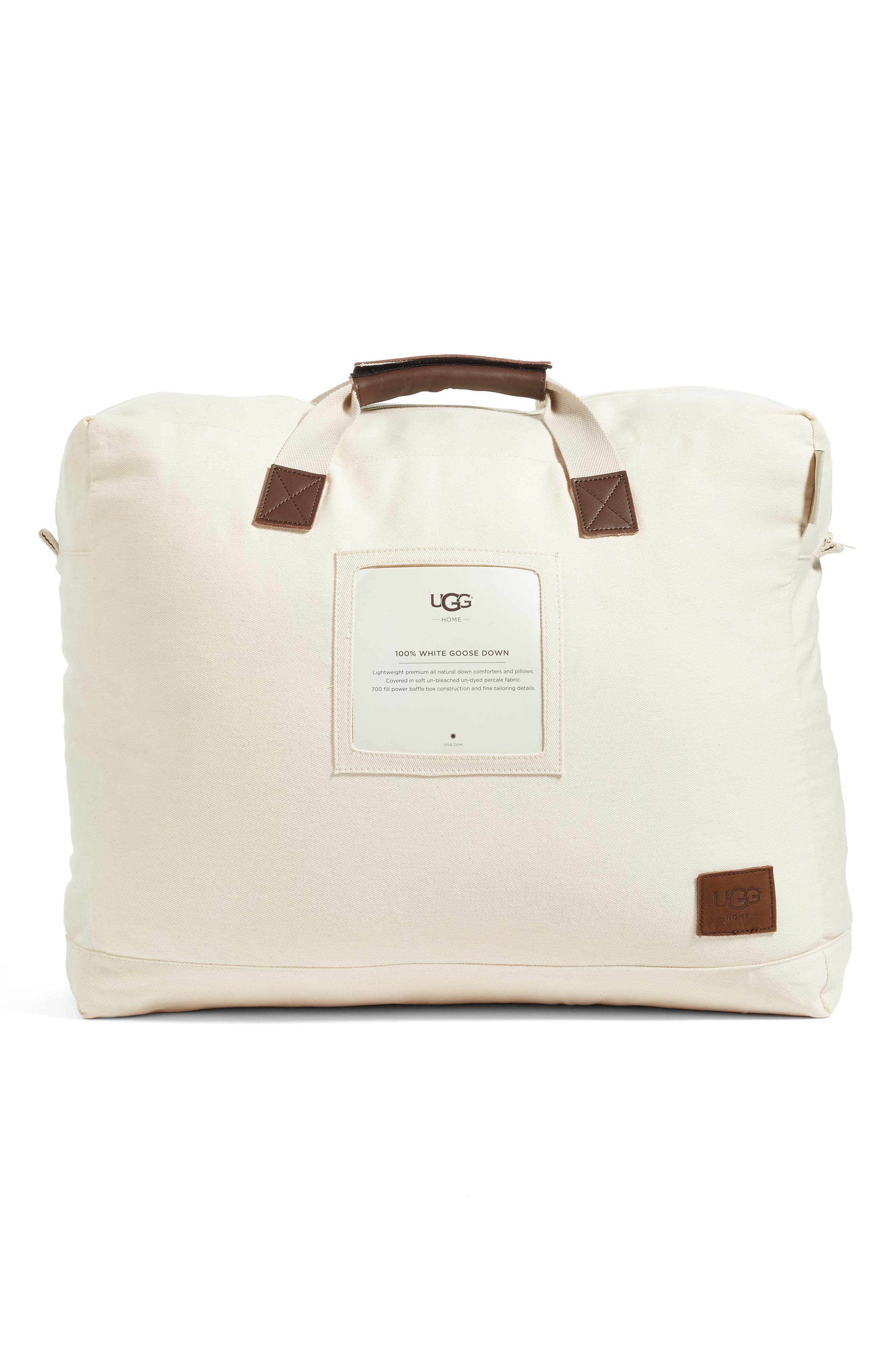 Year Round Down Comforter,                         Main,                         color, Down/ Natural