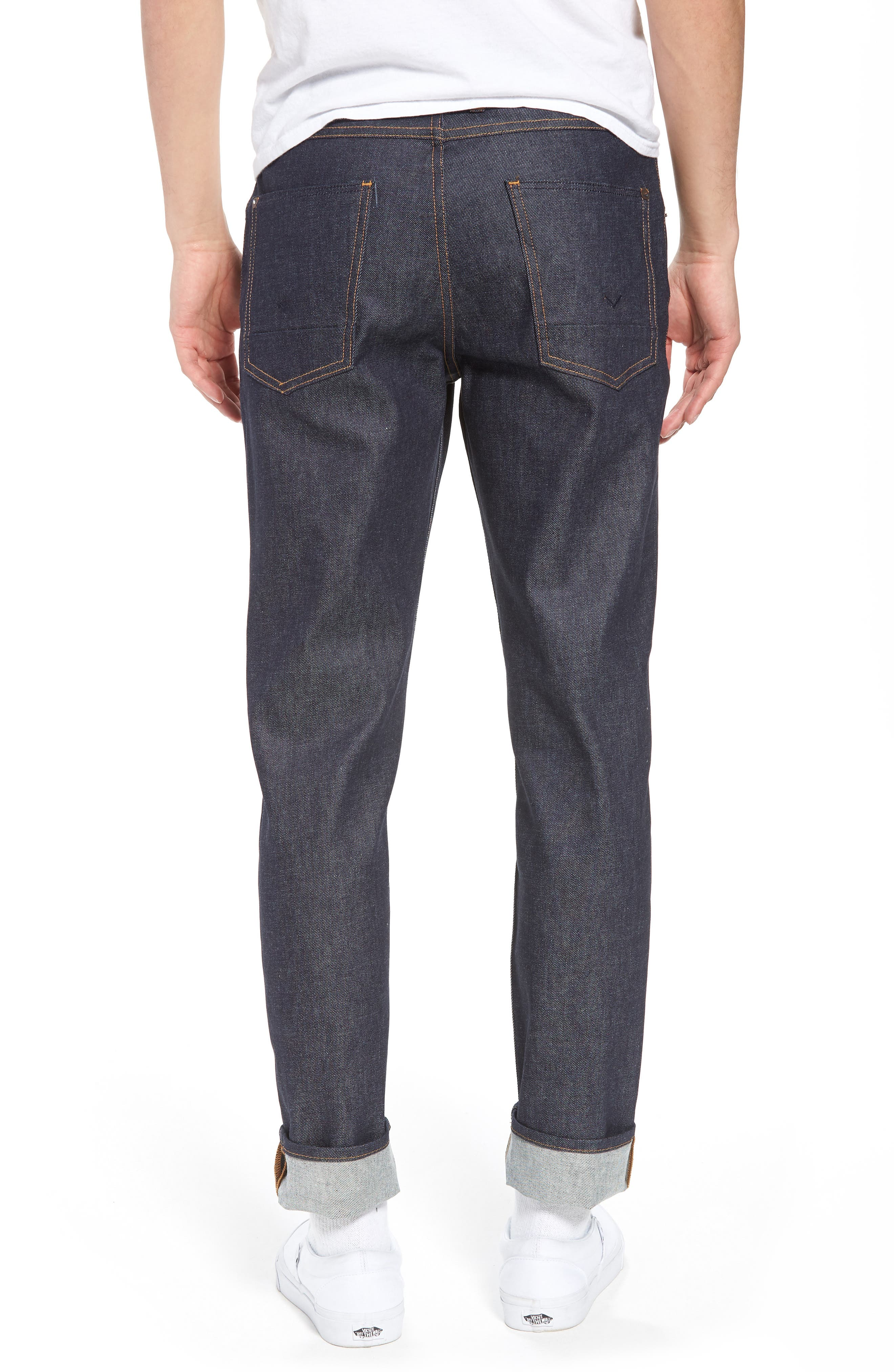 Alternate Image 2  - Hudson Jeans Sartor Skinny Fit Jeans (Raw)