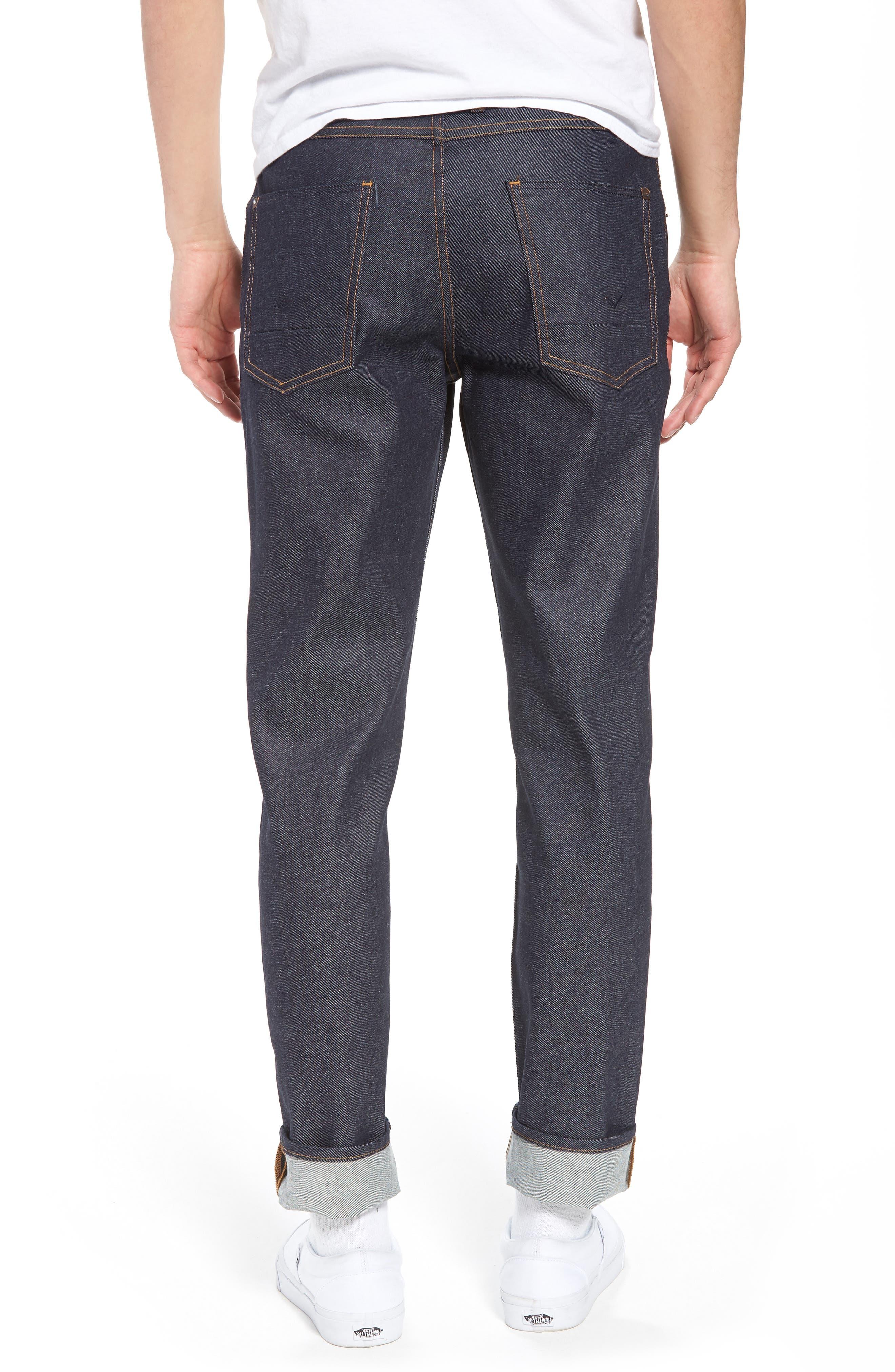 Sartor Skinny Fit Jeans,                             Alternate thumbnail 2, color,                             Raw