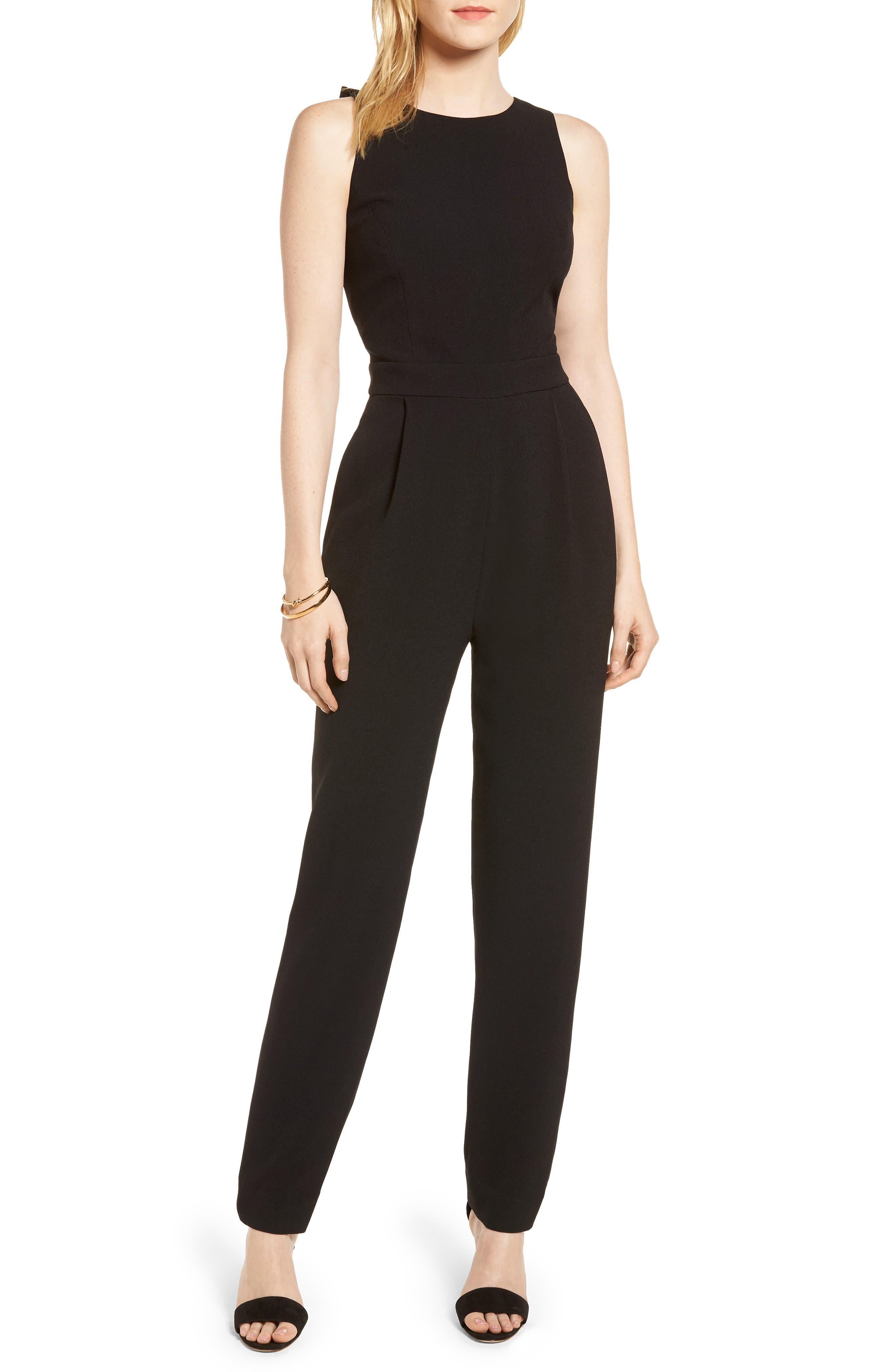 1901 Bow Back Jumpsuit (Regular & Petite)