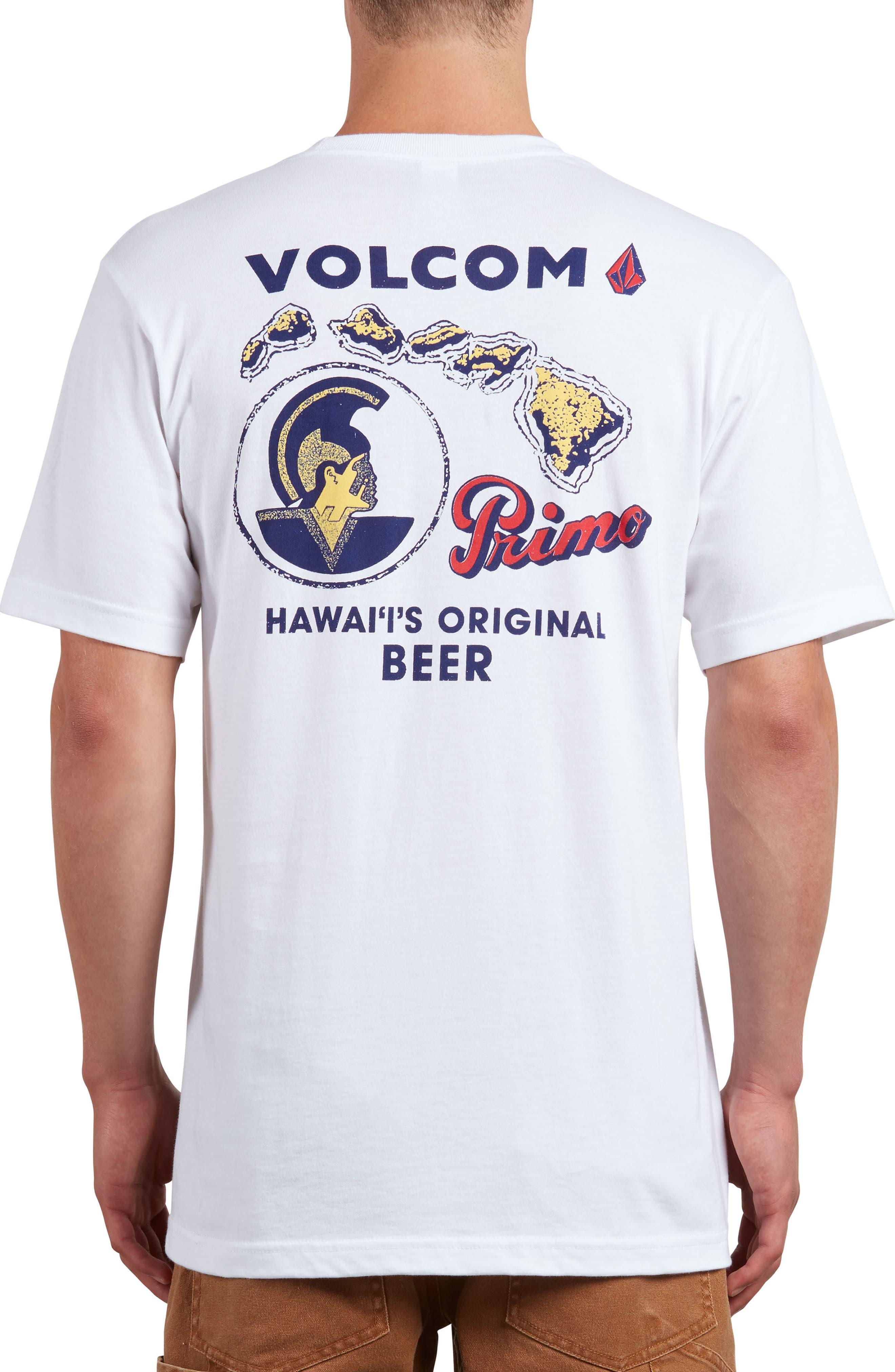 Primo Island T-Shirt,                             Alternate thumbnail 2, color,                             White