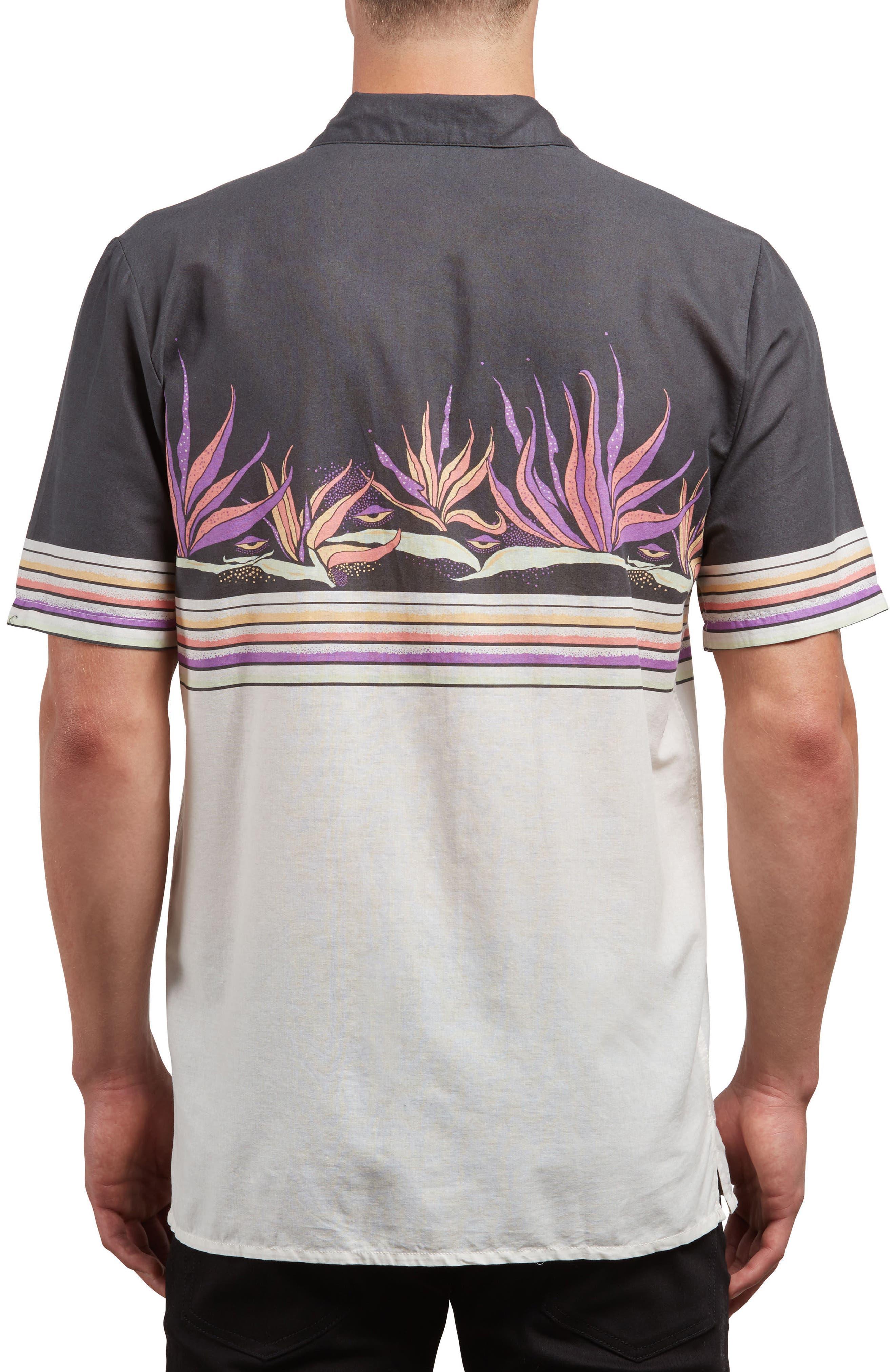 Algar Woven Shirt,                             Alternate thumbnail 2, color,                             White Flash