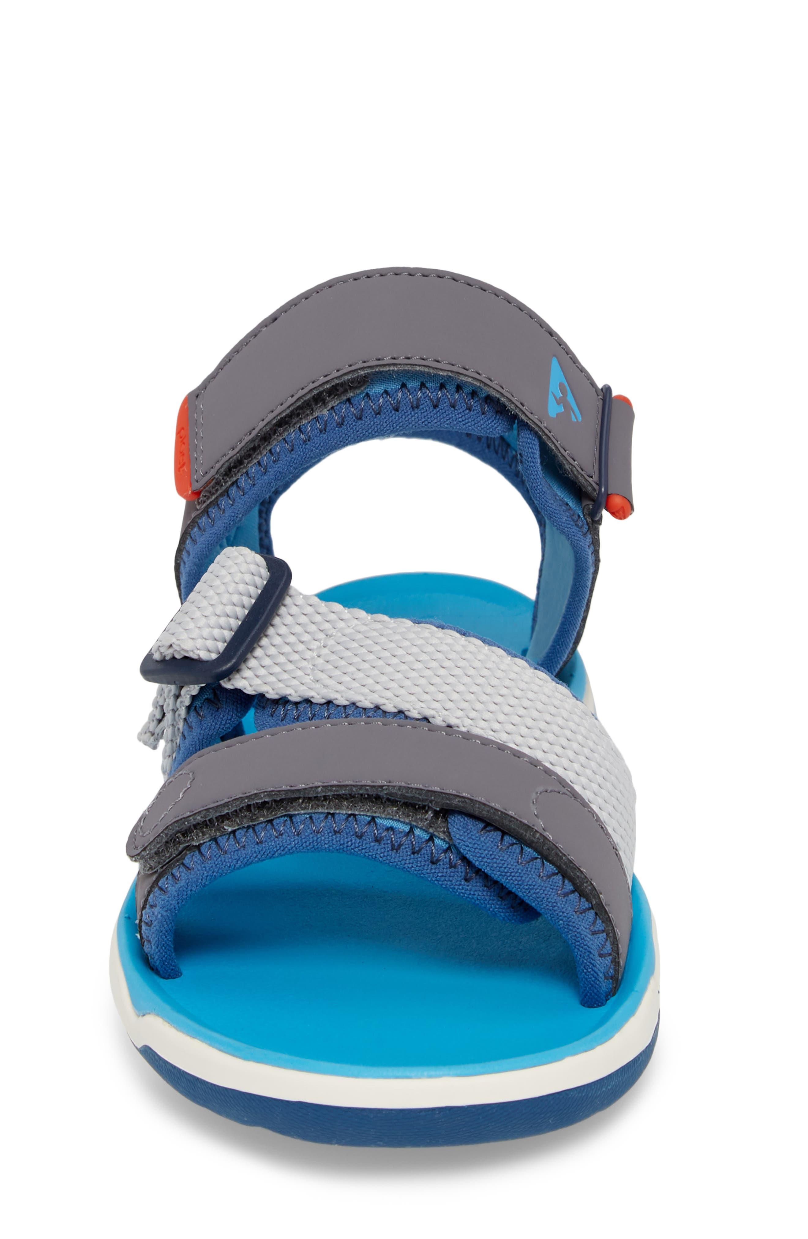 Wes Customizable Sandal,                             Alternate thumbnail 5, color,                             Aloha Blue