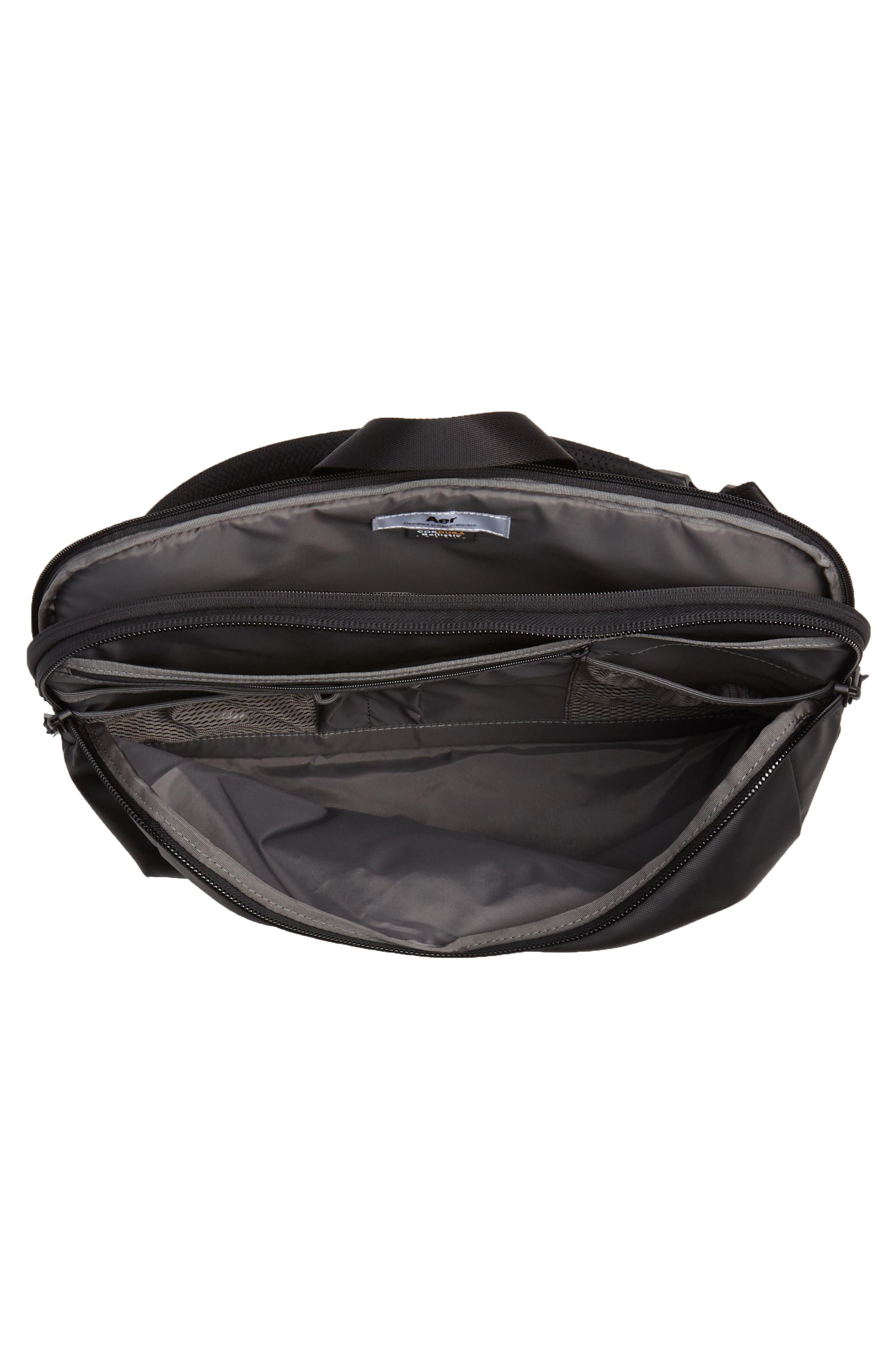 Tech Sling Bag,                             Alternate thumbnail 4, color,                             Black