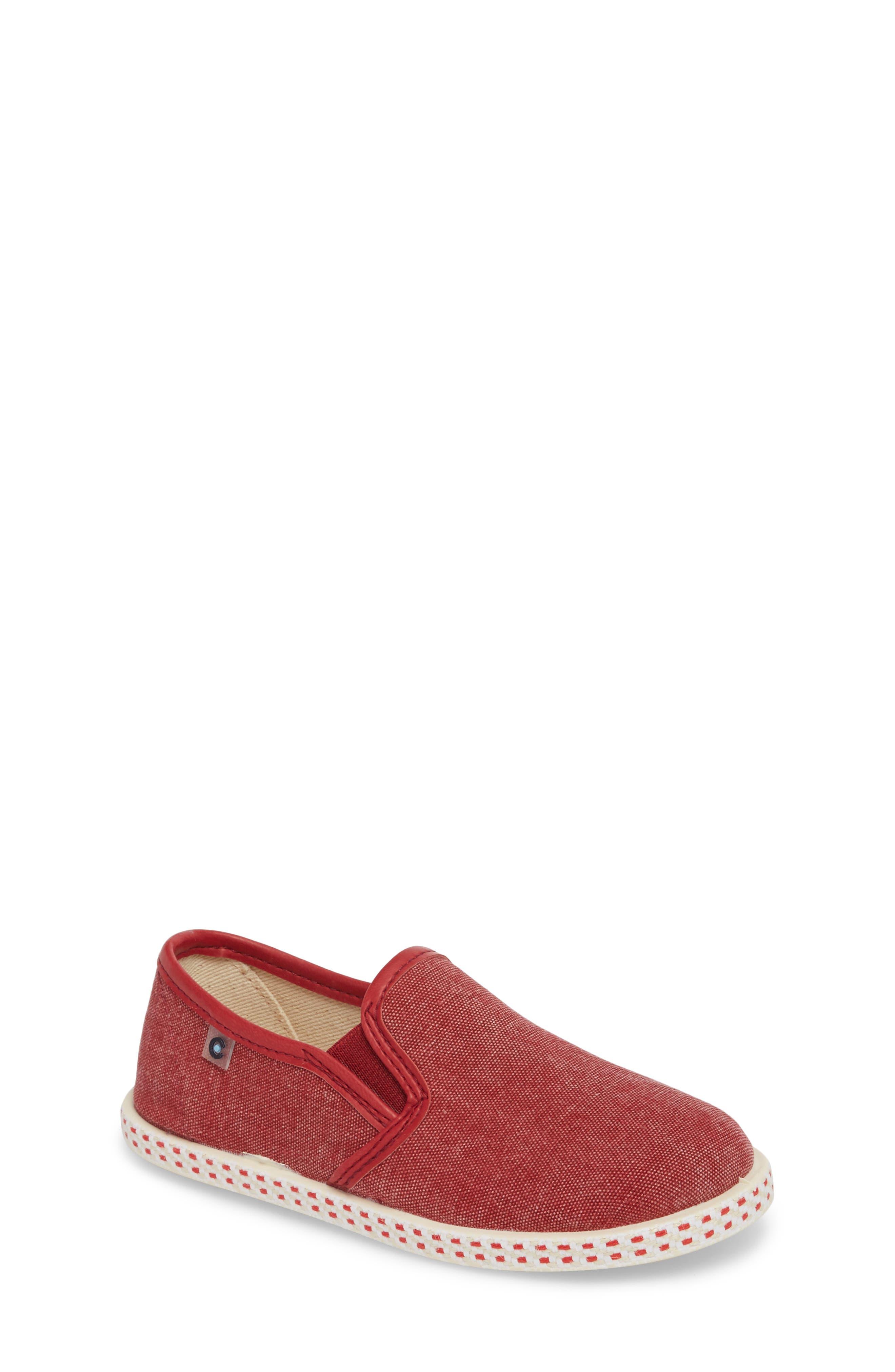 Conguitos Lona Slip-On Sneaker (Toddler & Little Kid)