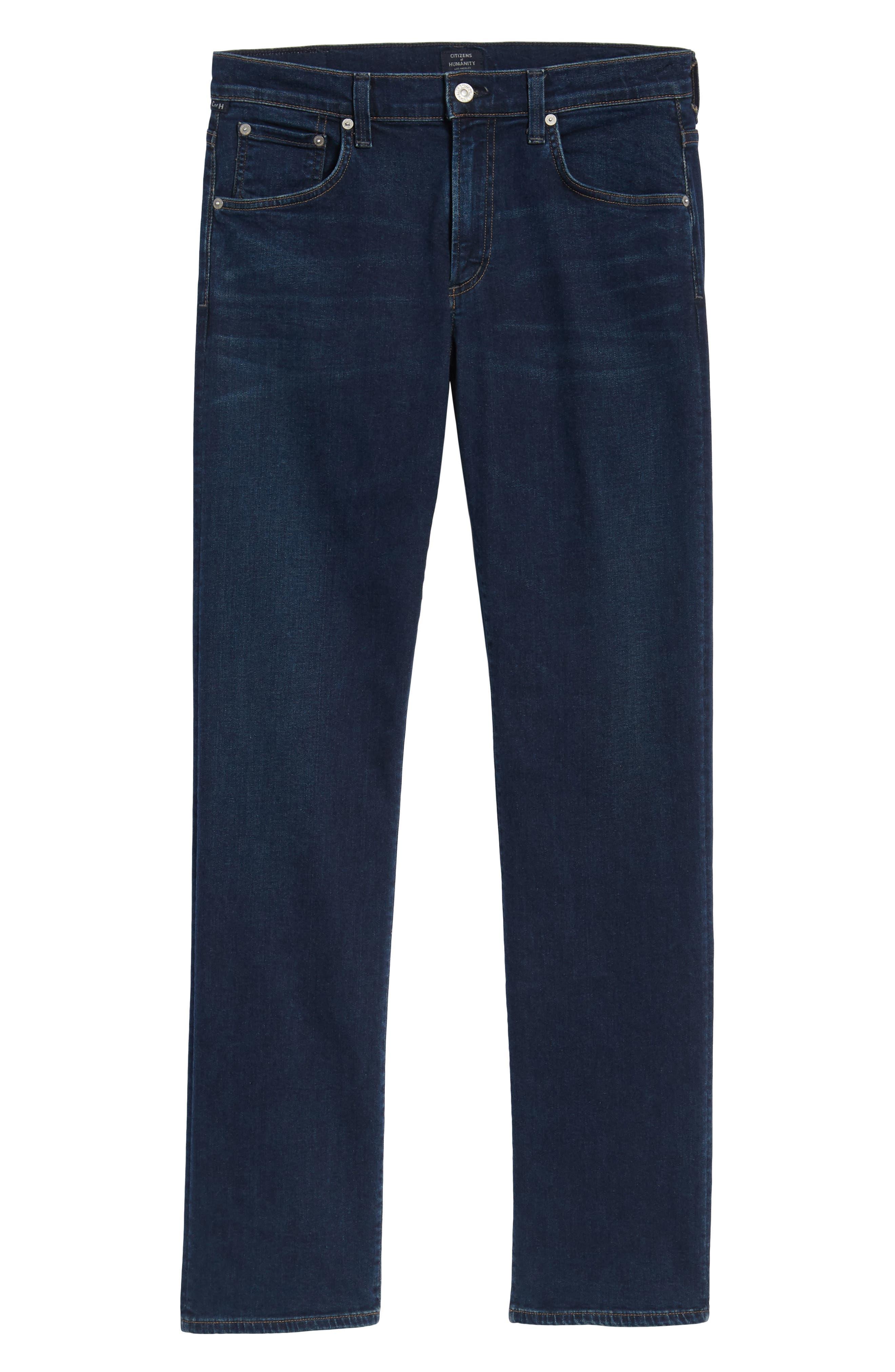 Sid Straight Leg Jeans,                             Alternate thumbnail 6, color,                             Everson