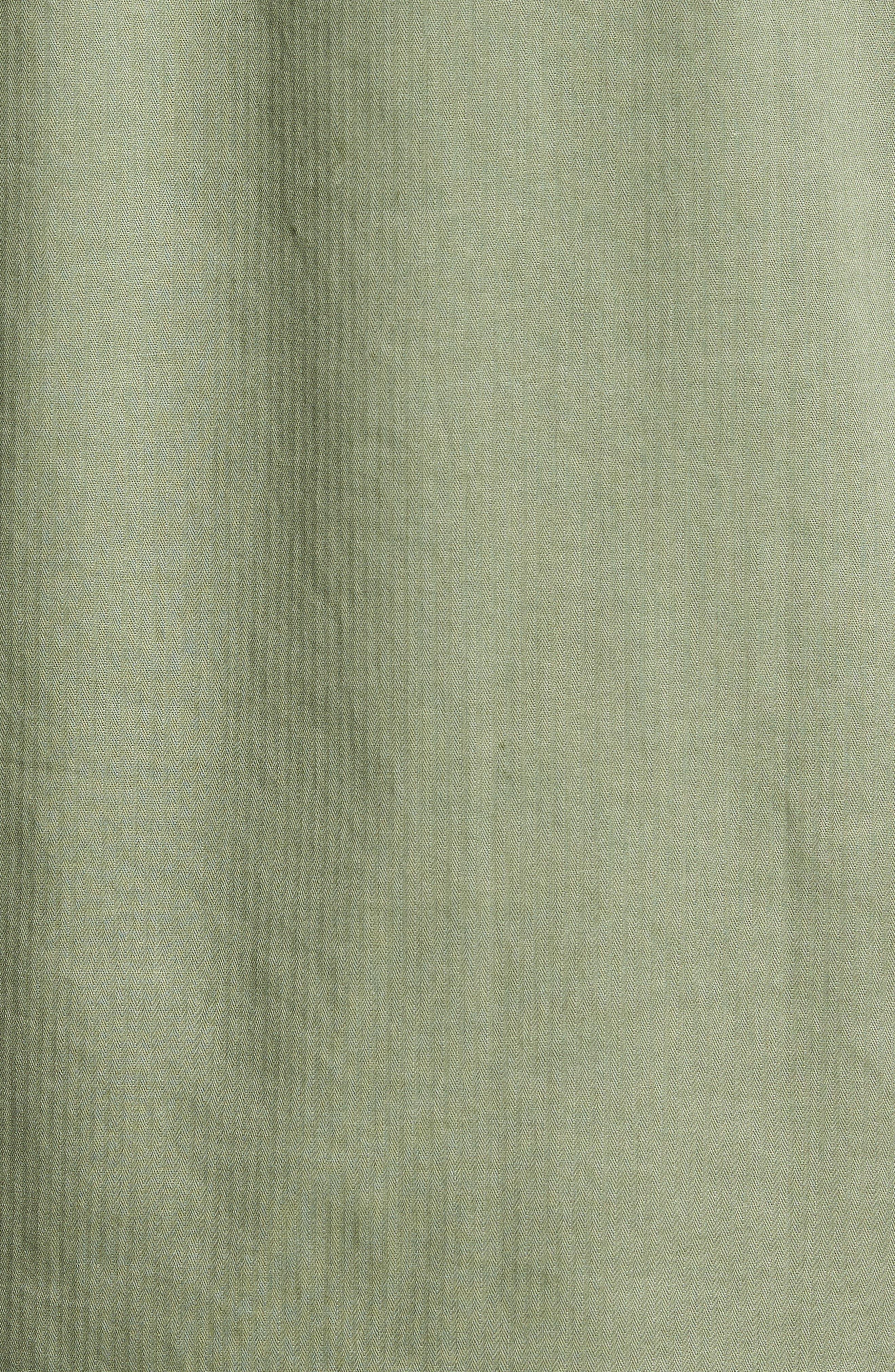 Radar Sport Shirt,                             Alternate thumbnail 5, color,                             Olive