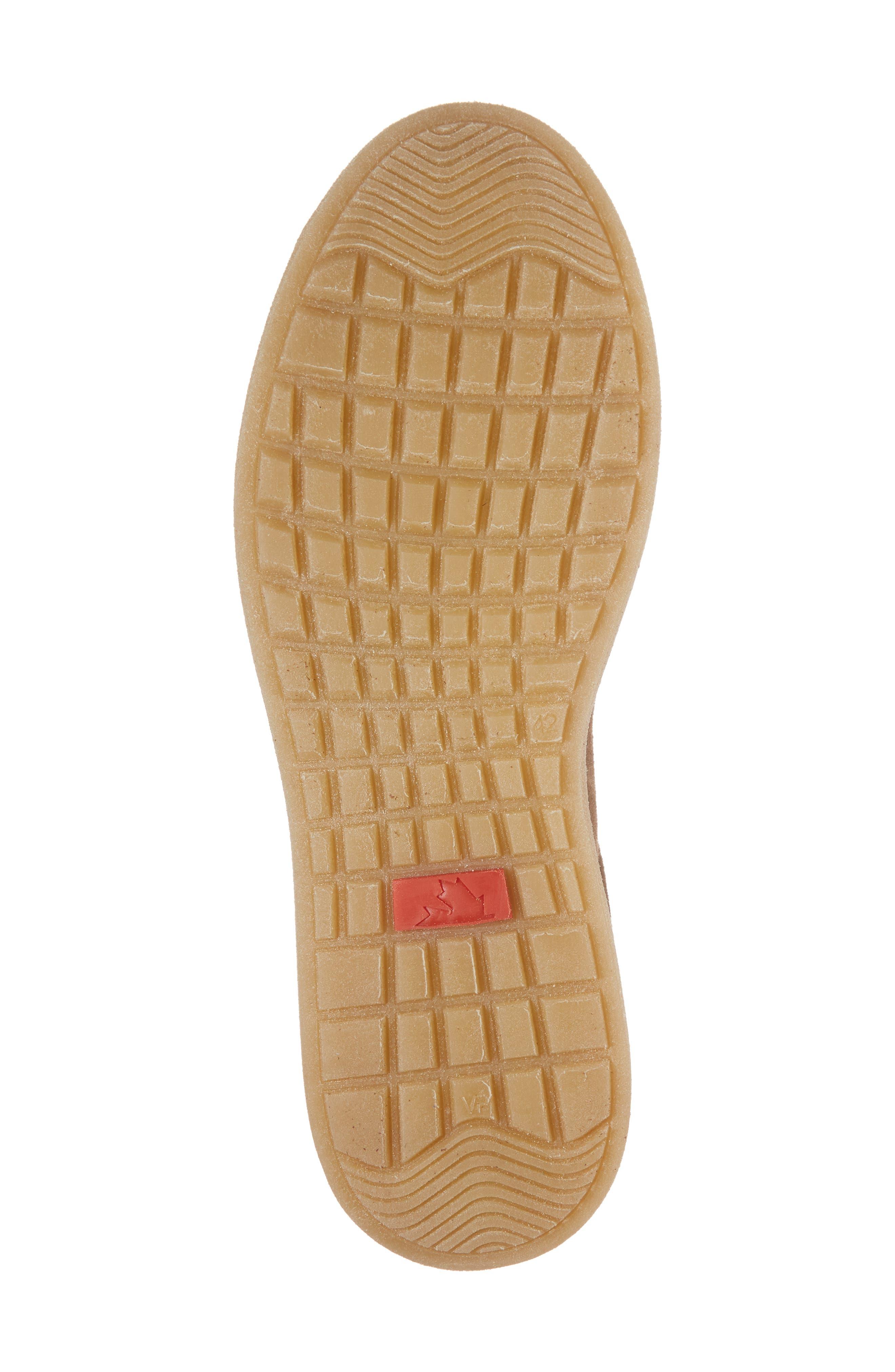 Rex Water Resistant Sneaker,                             Alternate thumbnail 6, color,                             Tobacco