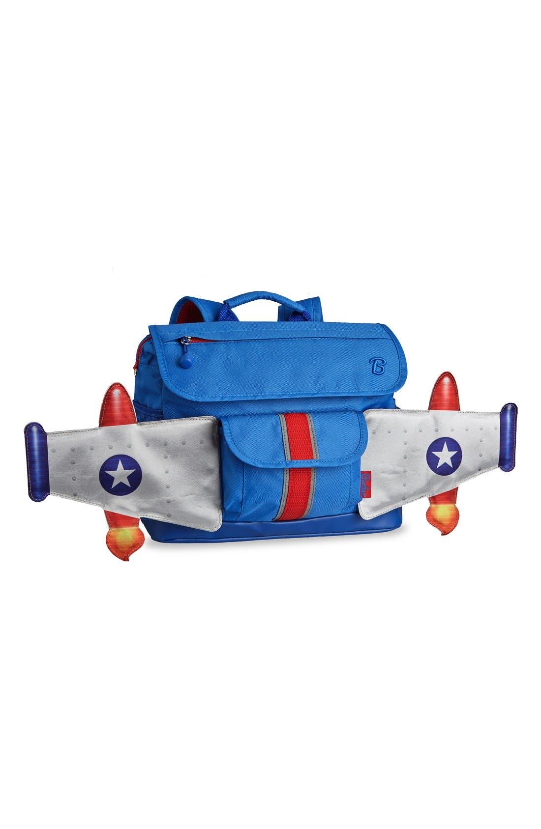 Bixbee 'Rocketflyer' Water Resistant Backpack (Kids)