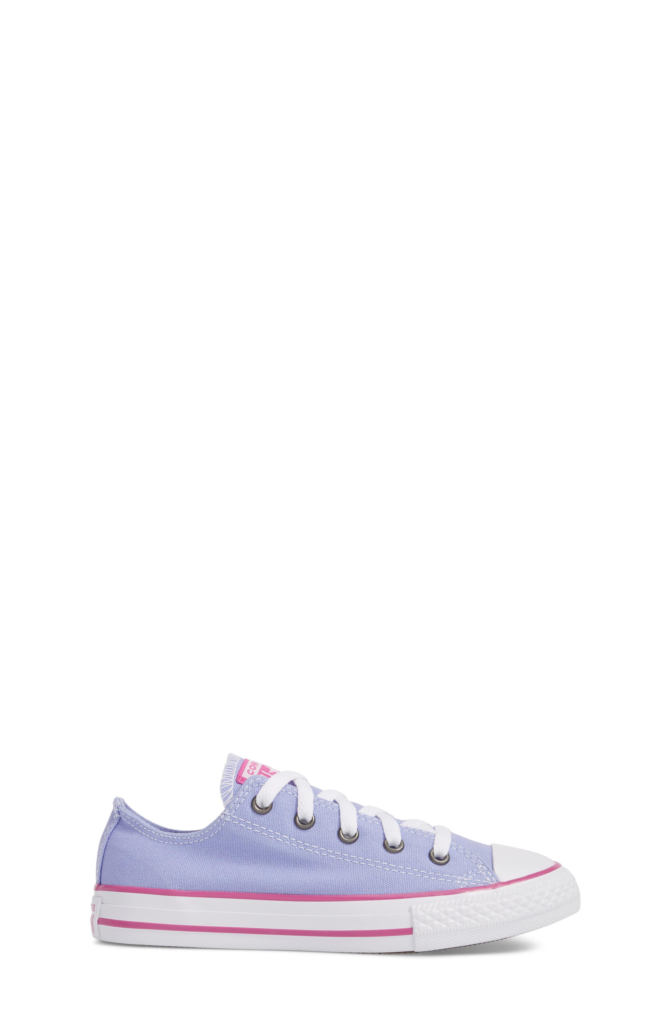 All Star<sup>®</sup> Low Top Sneaker,                             Alternate thumbnail 3, color,                             Twilight Purple