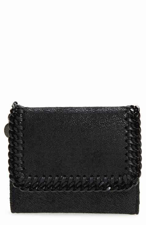 295304063367 Stella McCartney Falabella Faux Leather Shaggy Deer Wallet