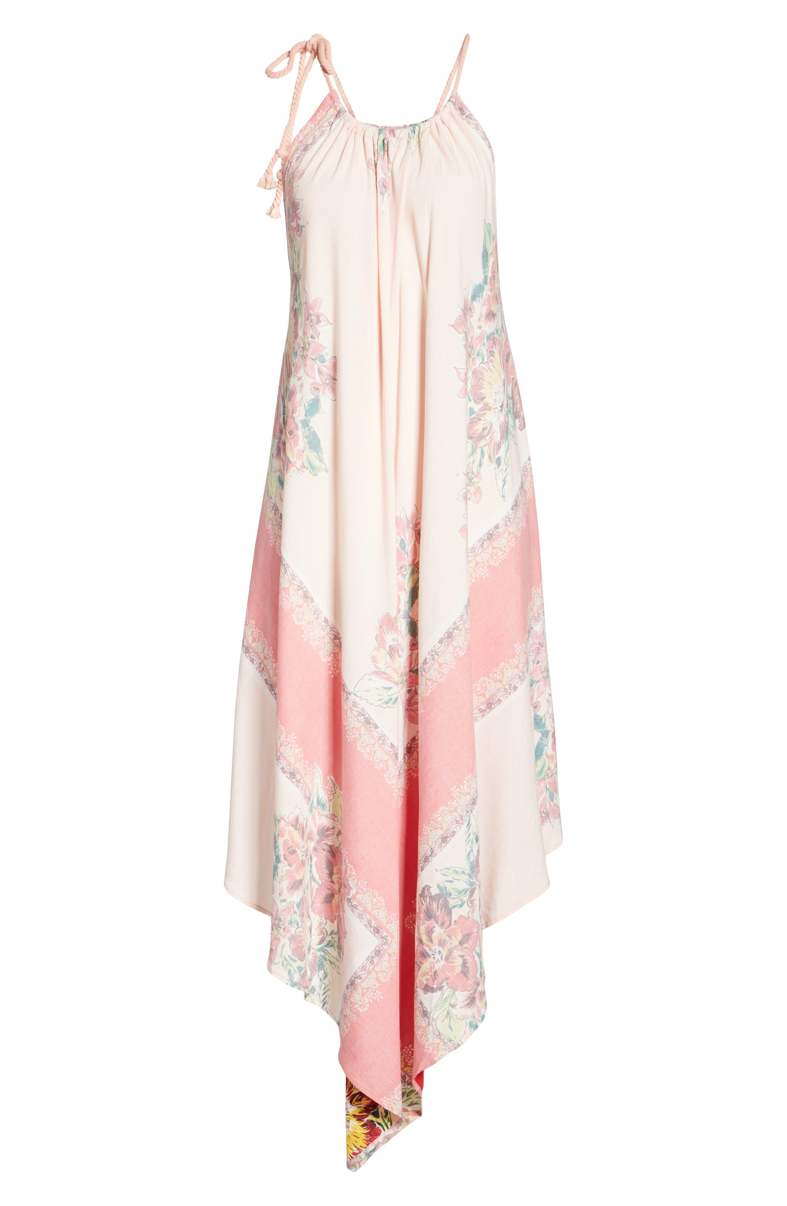 Mind's Eye Maxi Dress,                             Alternate thumbnail 6, color,                             Pink