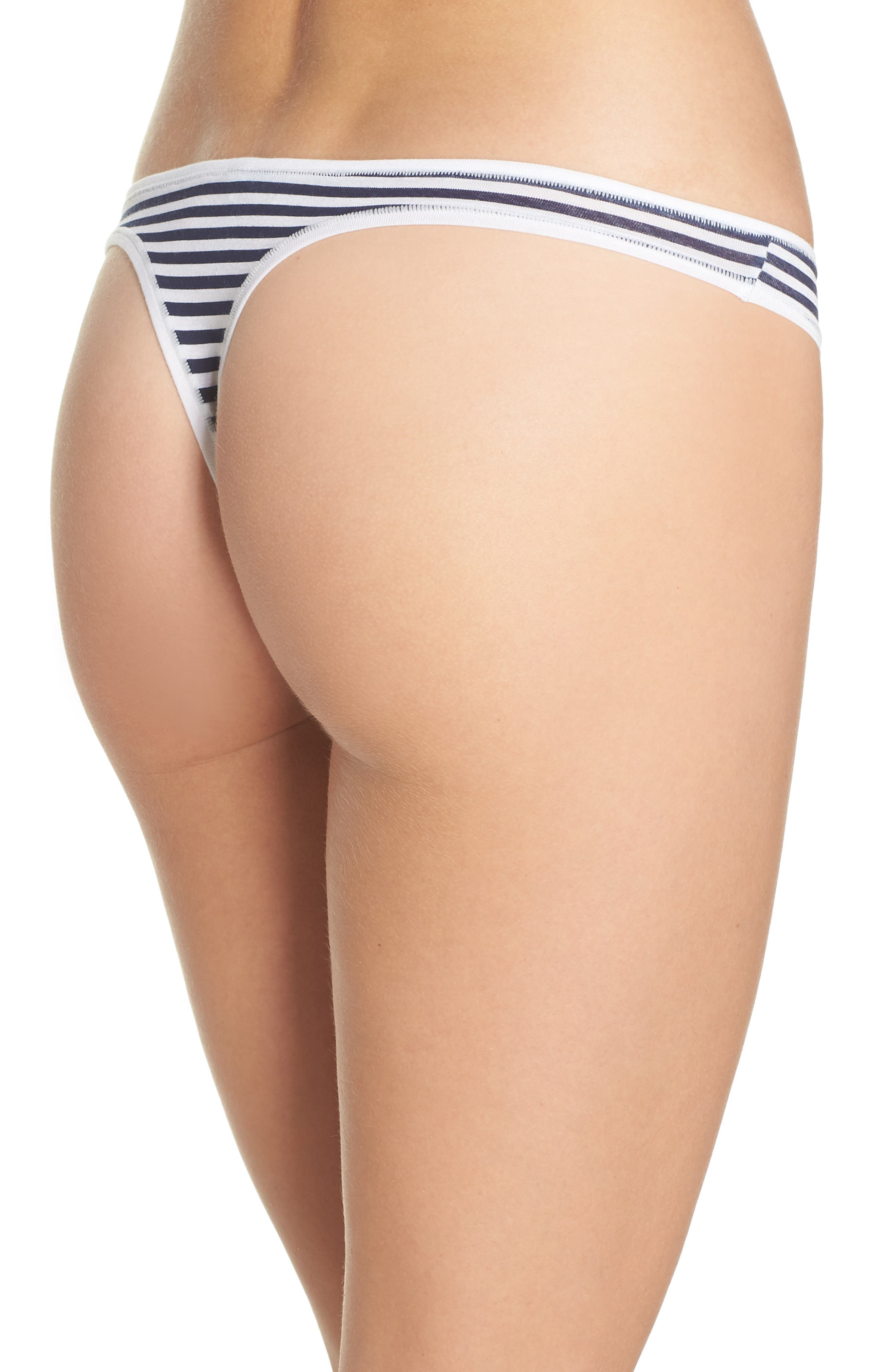Alternate Image 2  - Halogen® Micromodal Thong (3 for $33)