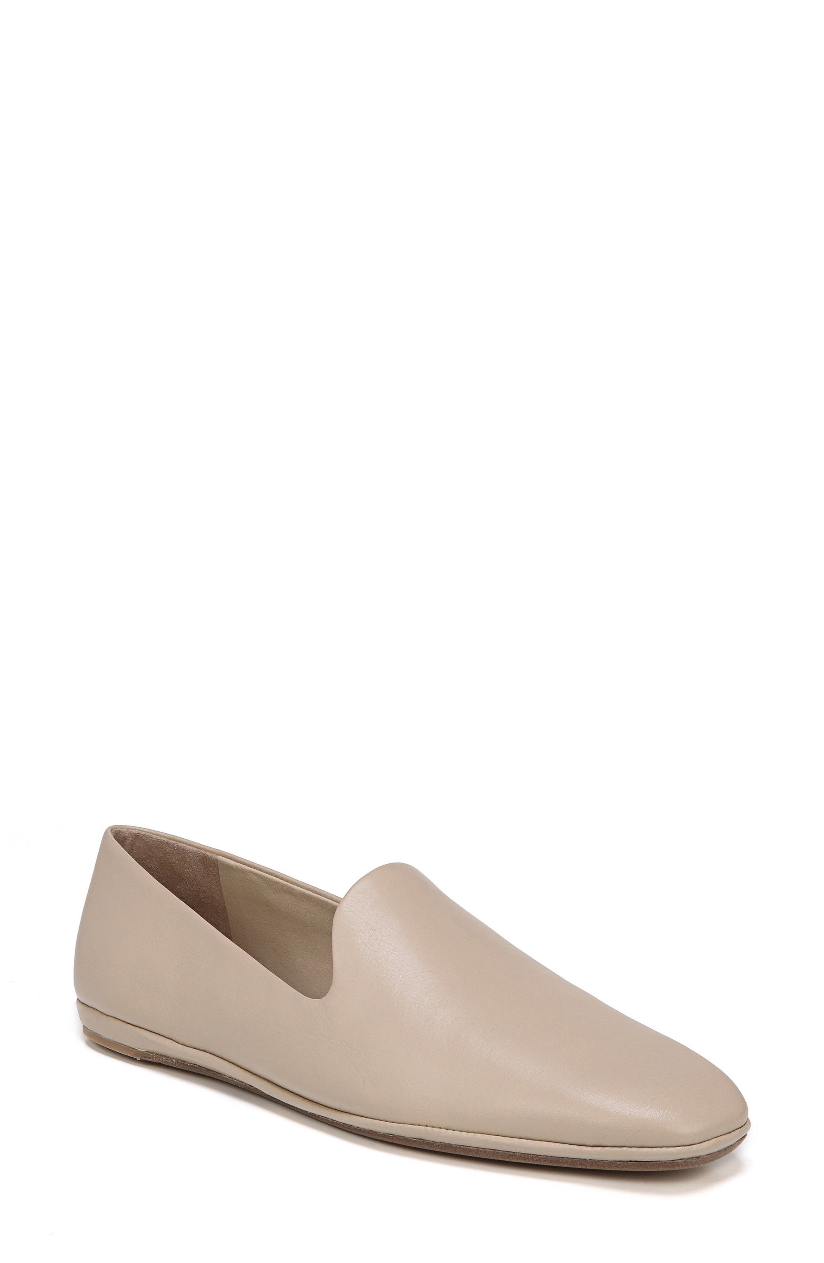Paz Venetian Loafer,                             Main thumbnail 1, color,                             Greige Nude