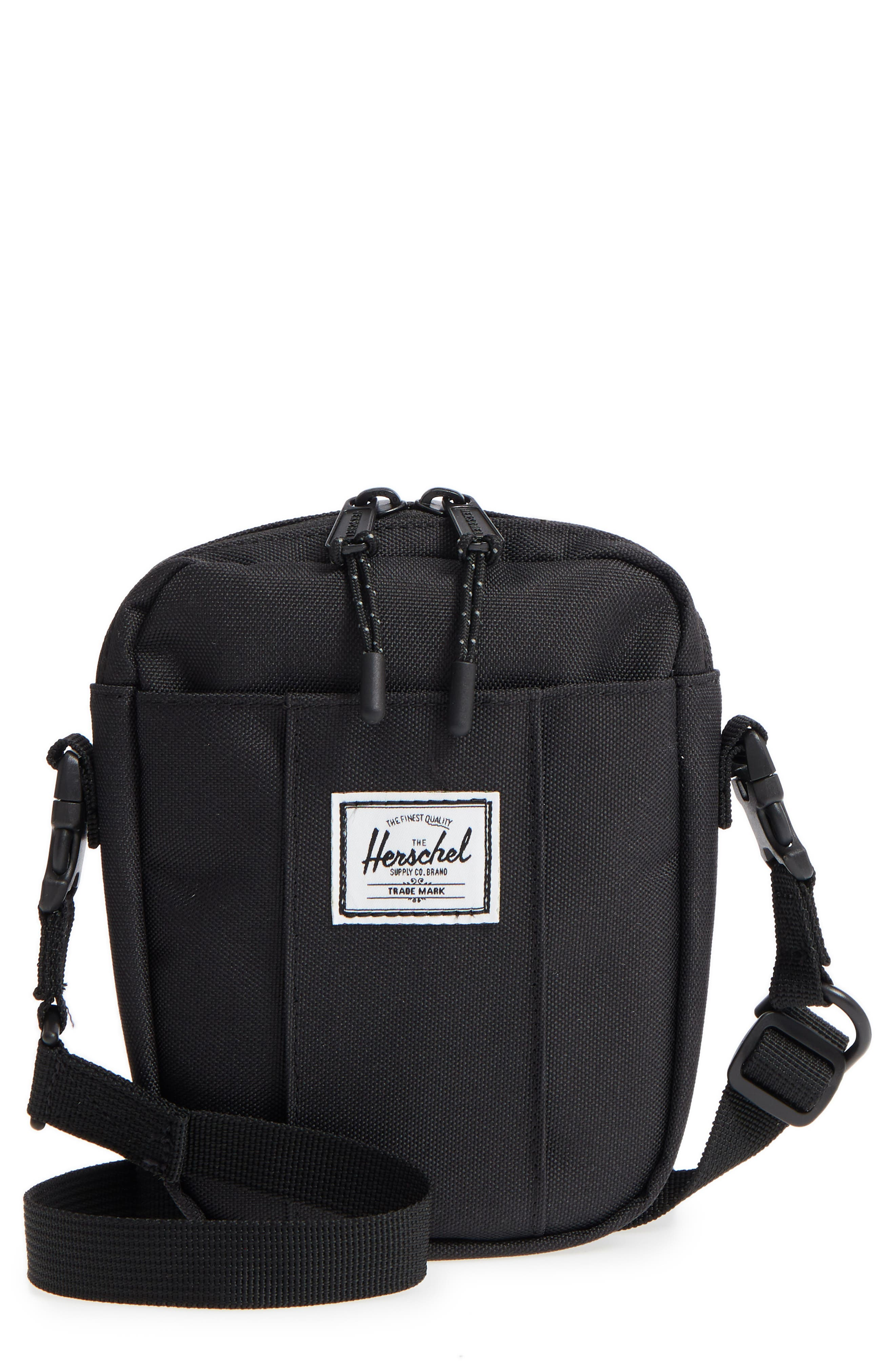 Herschel Supply Co. Cruz Crossbody Bag - Black  677d1a923ef33